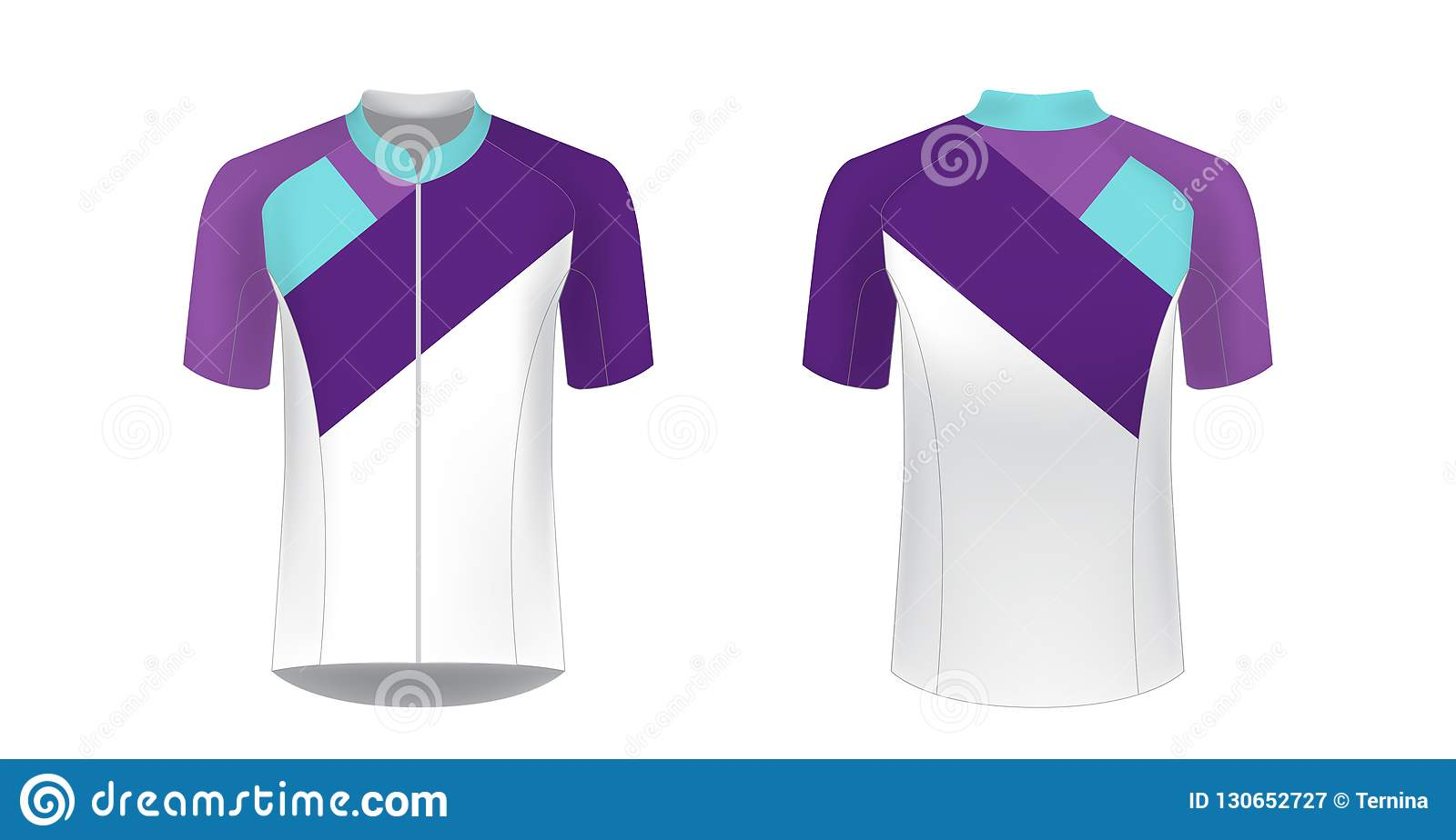 Cycling jersey mockup stock vector  Illustration of jersey