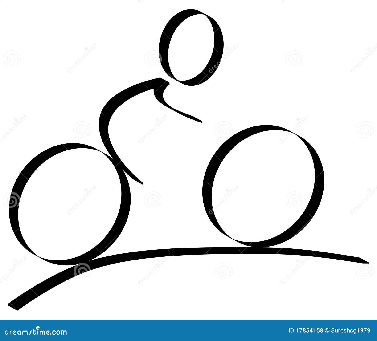 Cycling Logo Royalty Free Stock Photos - Image: 17854158