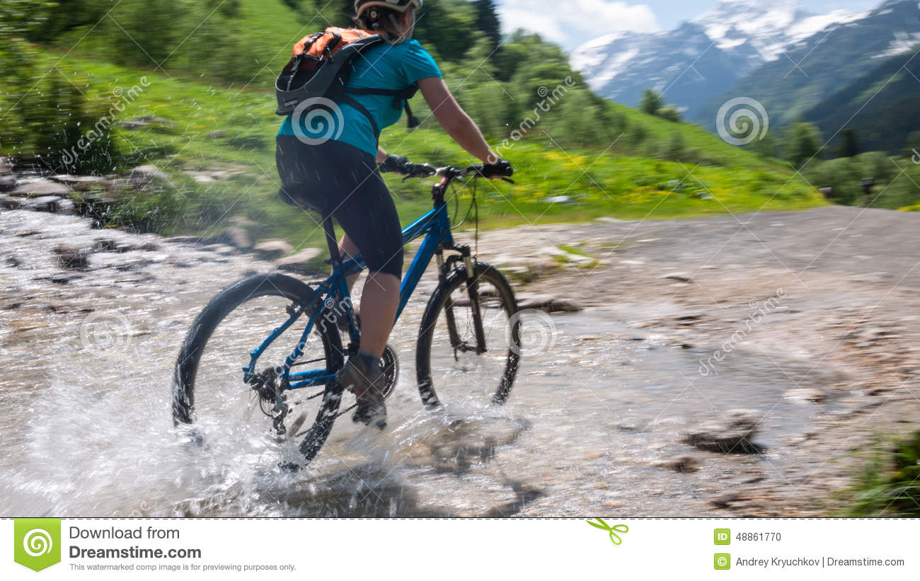 Cycling in mountains