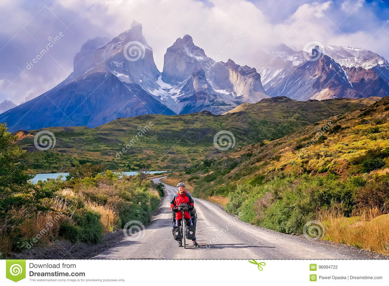 Cycling in Torres del Paine NP