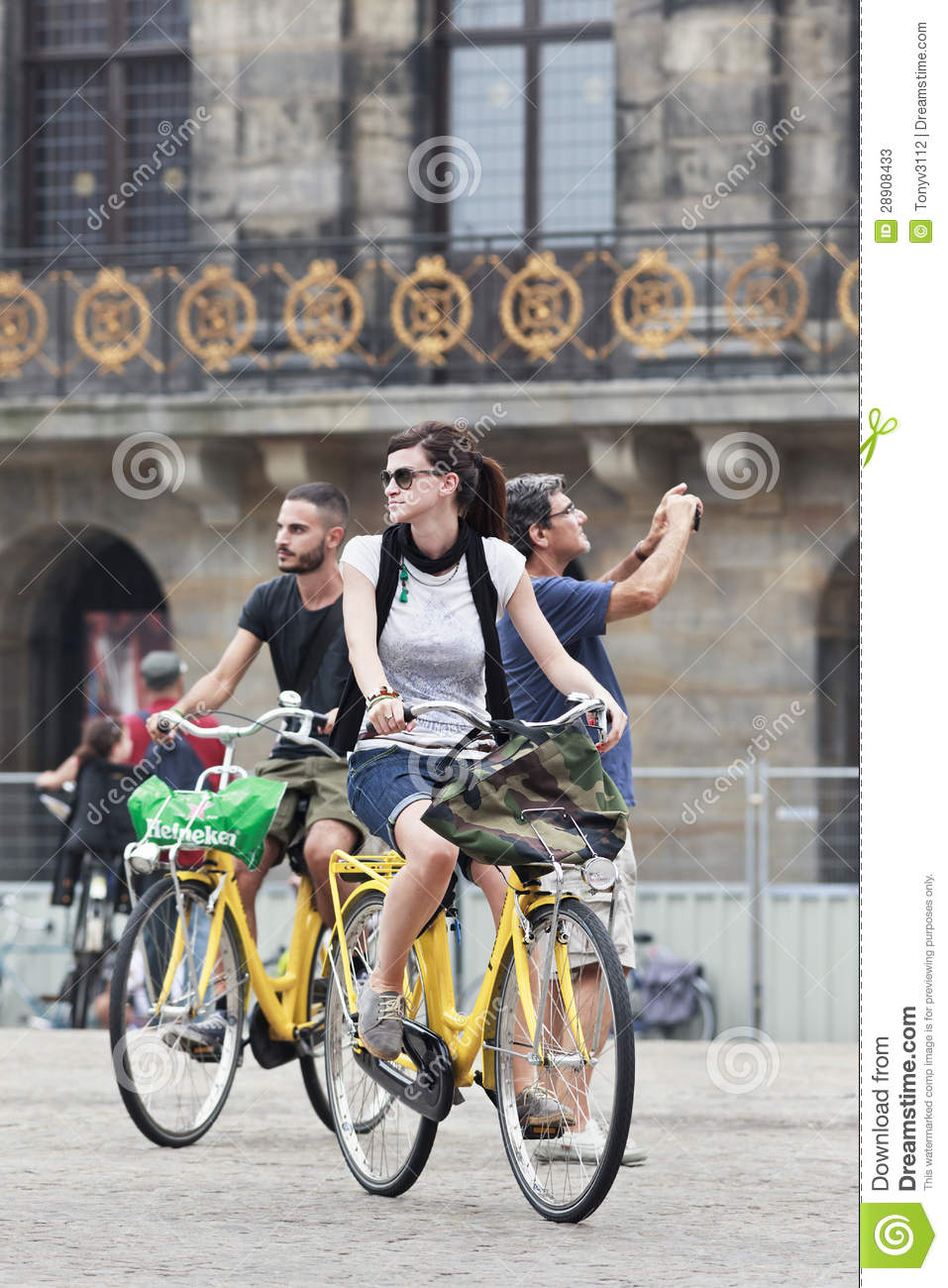 0f70e0f7f6e28 Cycling tourists on Aug. 19 in Amsterdam. 38% of traffic movement in the  city is by bike , 37% by car, 25% by public transport.
