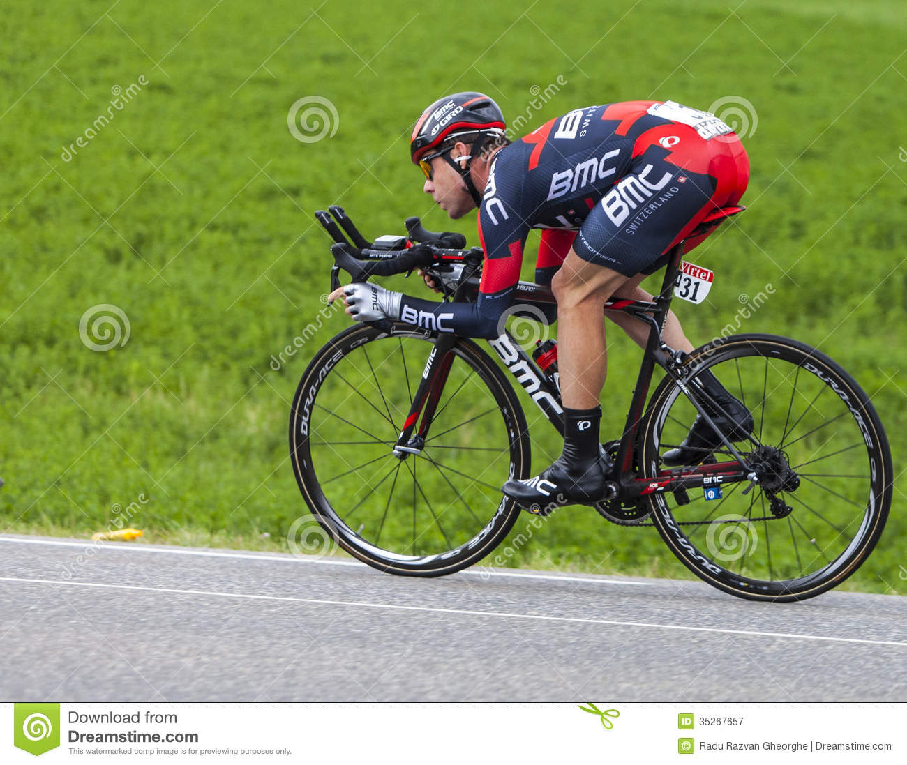 The Cyclist Cadel Evans editorial photography. Image of ...