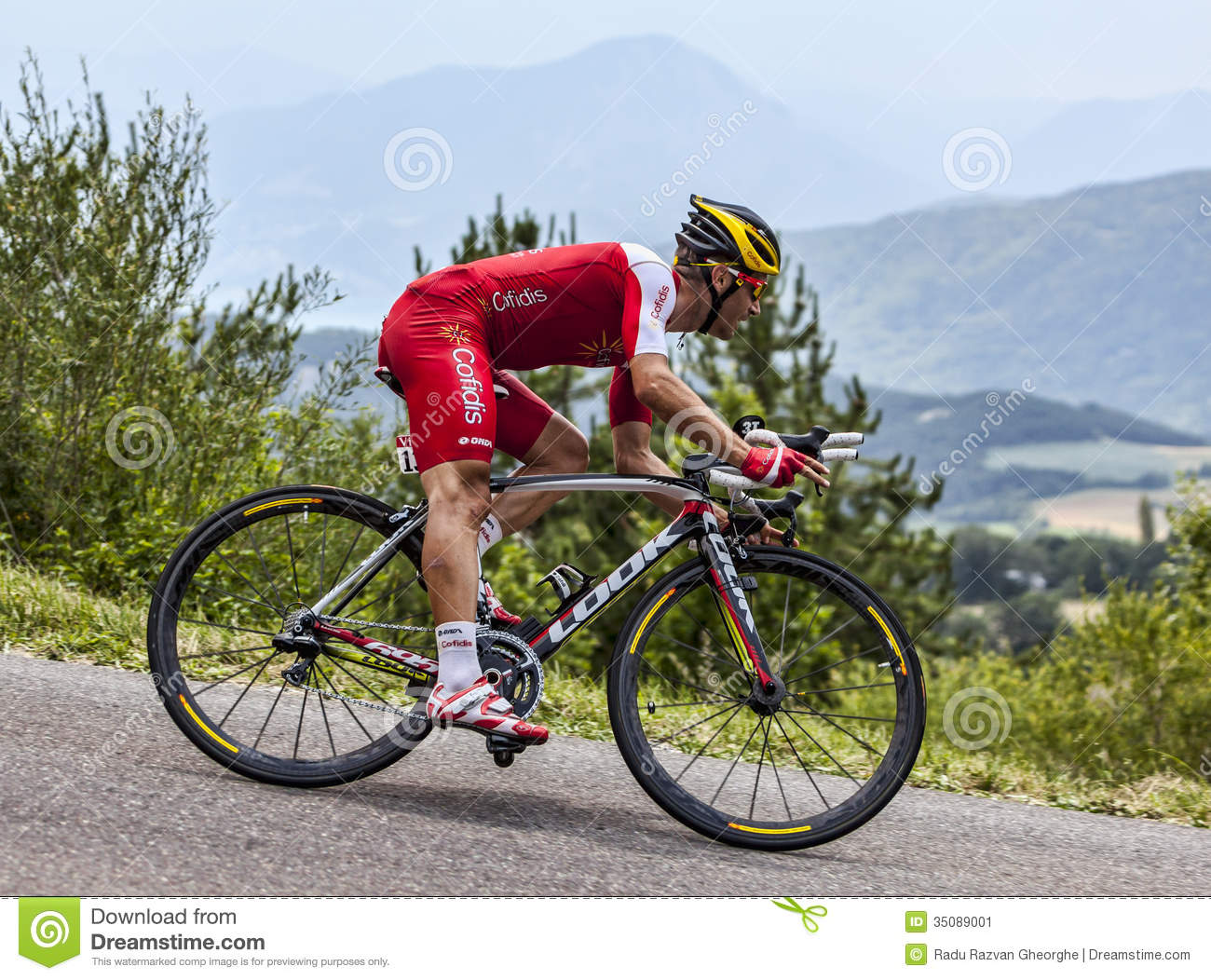 c75286456 The Cyclist Christophe Le Mevel Editorial Photo - Image of mevel ...