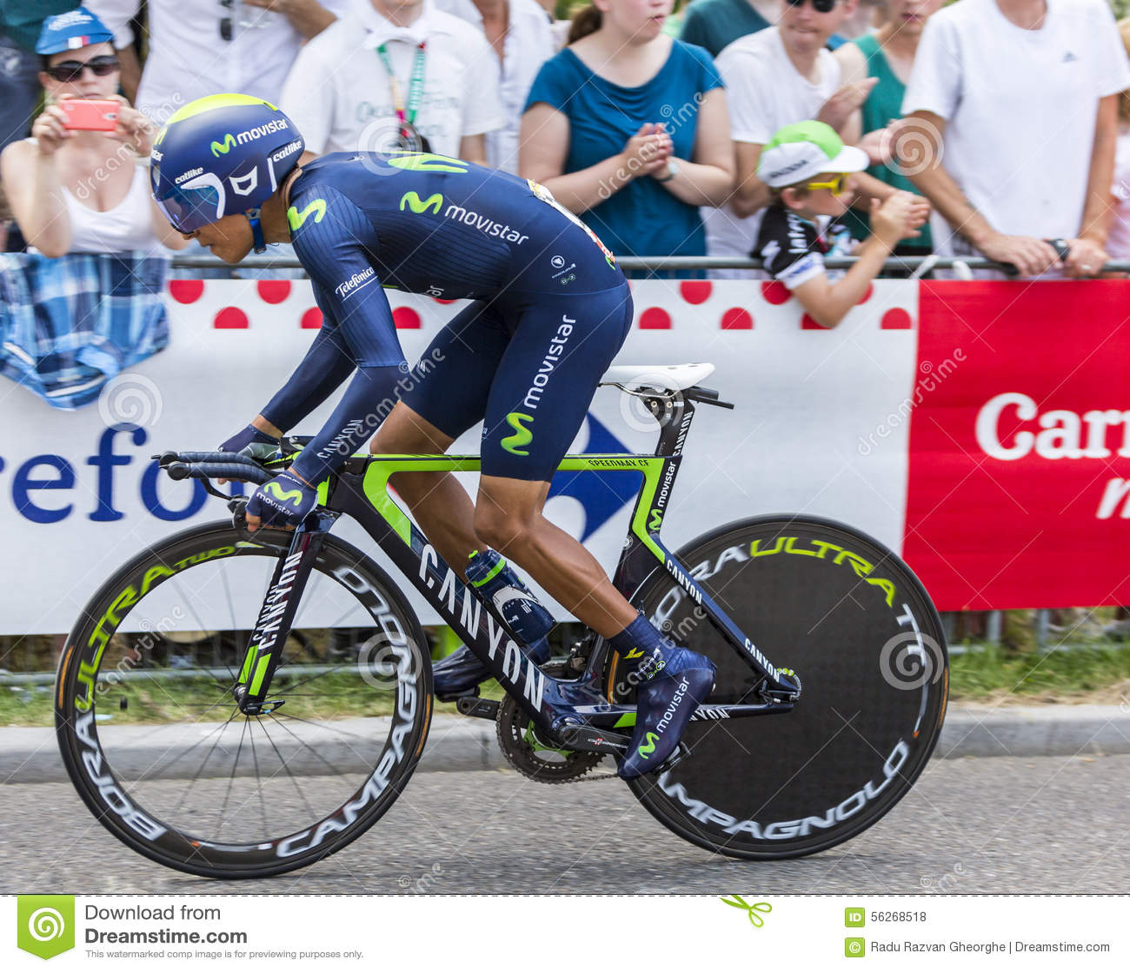 86d351f4d The Cyclist Nairo Quintana - Tour De France 2015 Editorial Stock ...