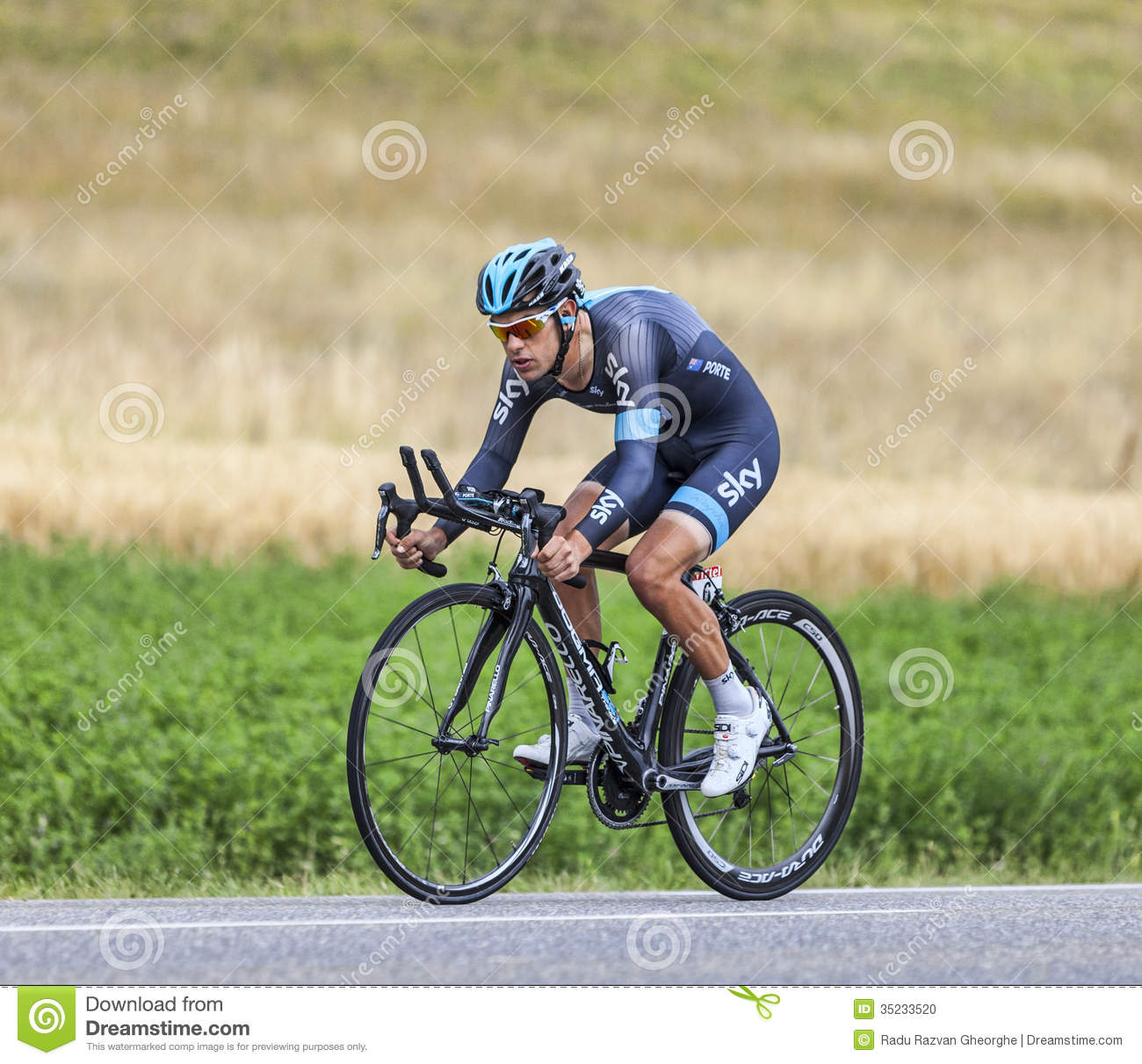 The cyclist richie porte editorial image image of for Richie porte cyclist