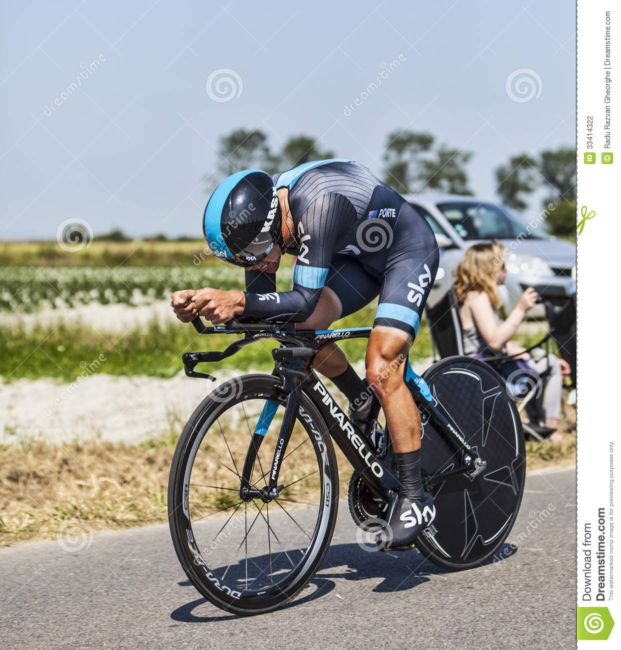 The cyclist richie porte editorial photography image for Richie porte cyclist