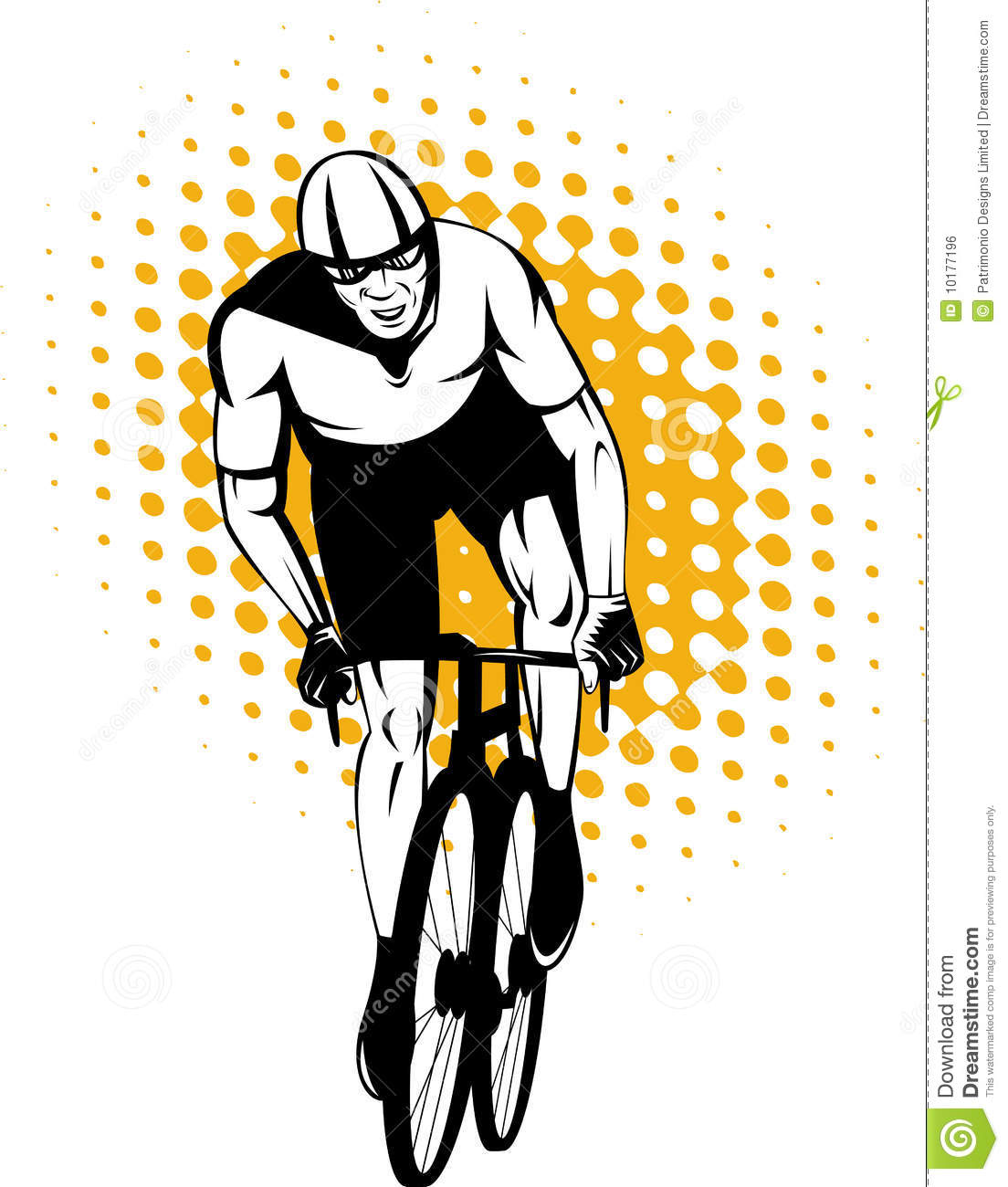 Cyclist Riding Racing Bicycle Stock Illustrations – 285 Cyclist ... for Racing Bicycle Clipart  545xkb