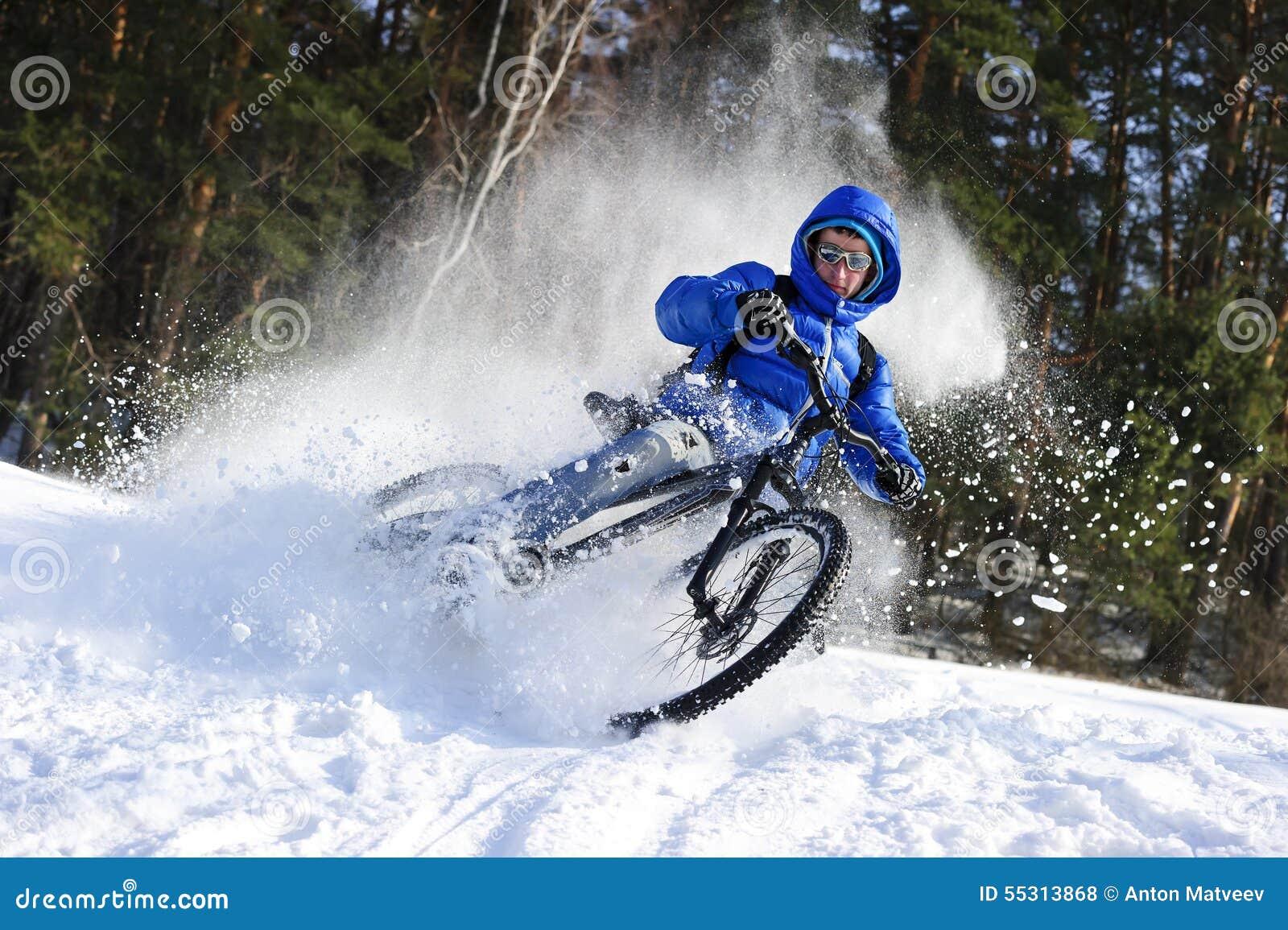 mountainbike snow winter extreme-#15