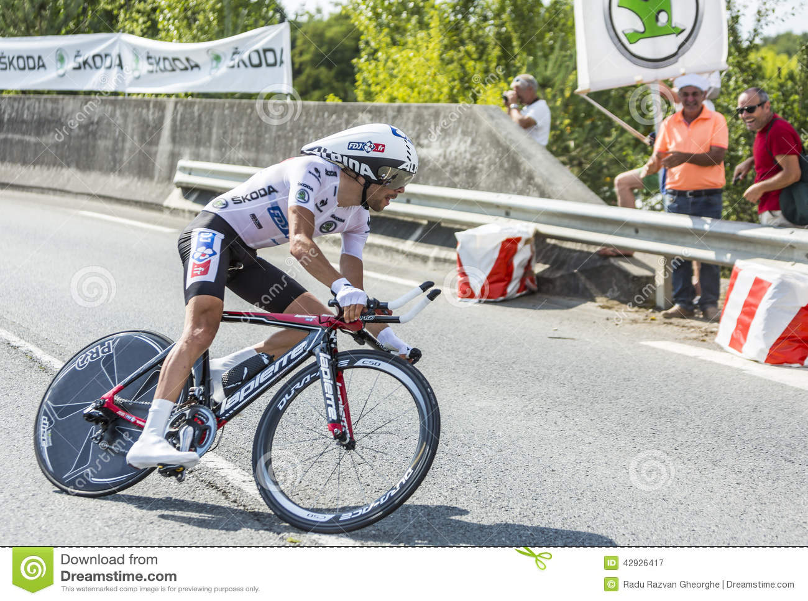 The Cyclist Thibaut Pinot