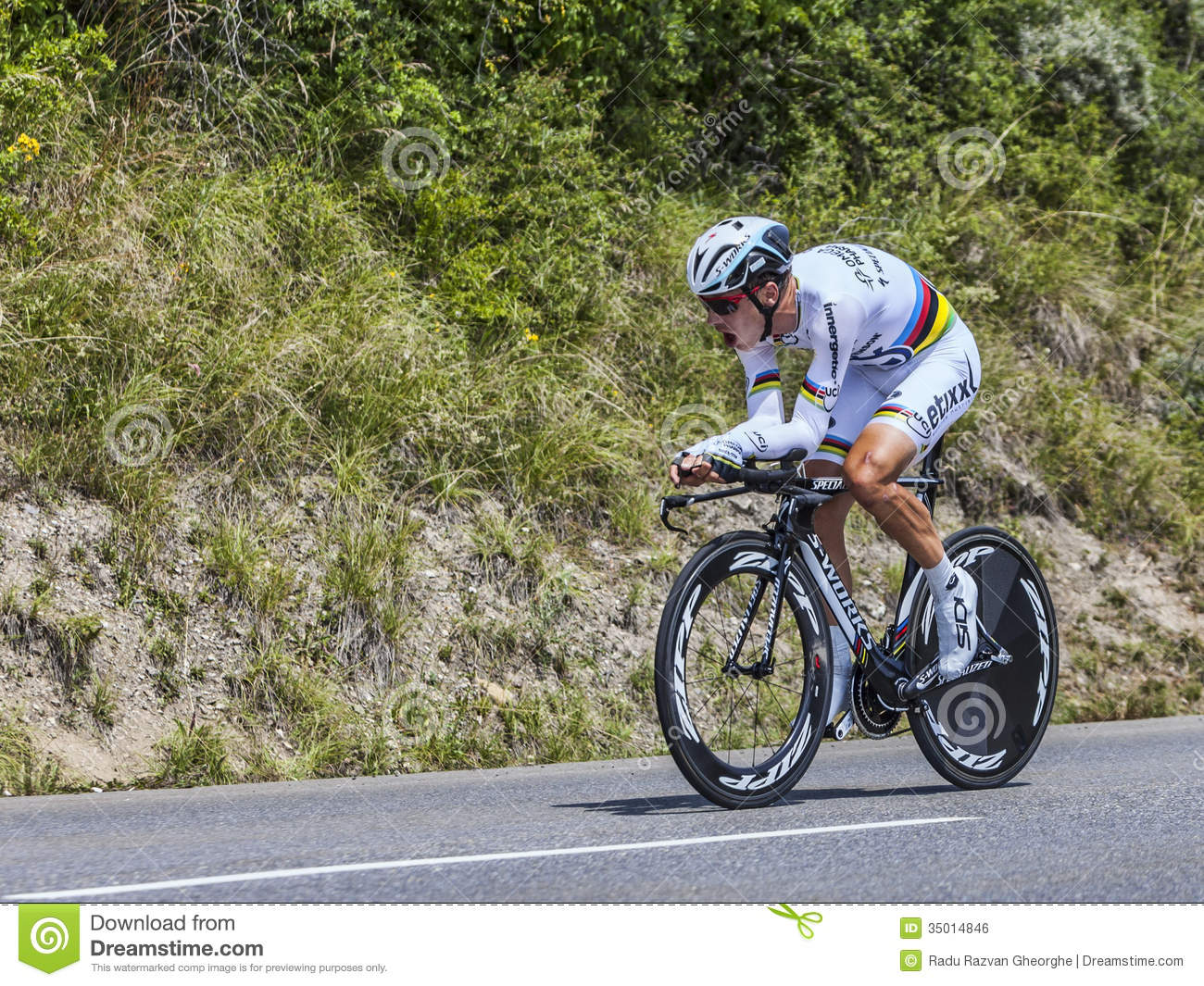 The Cyclist Tony Martin Editorial Photo