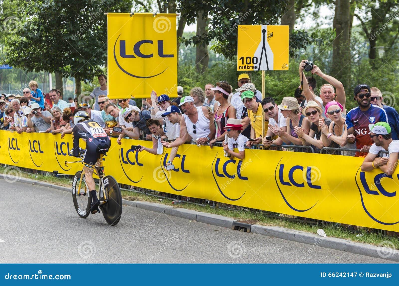 The Cyclist Tyler Farrar - Tour De France 2015 Editorial