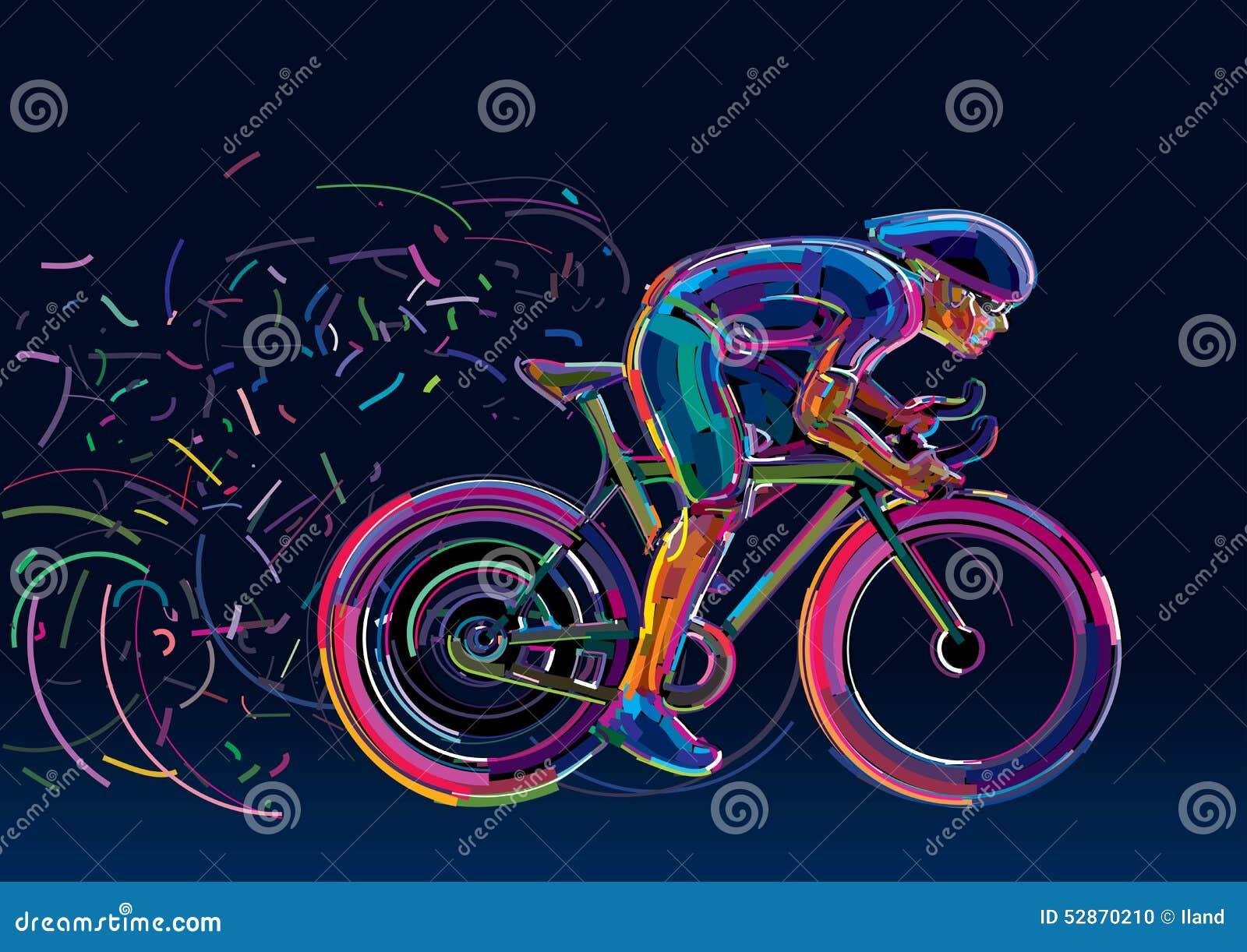cycliste professionnel impliqu dans une course de v lo. Black Bedroom Furniture Sets. Home Design Ideas