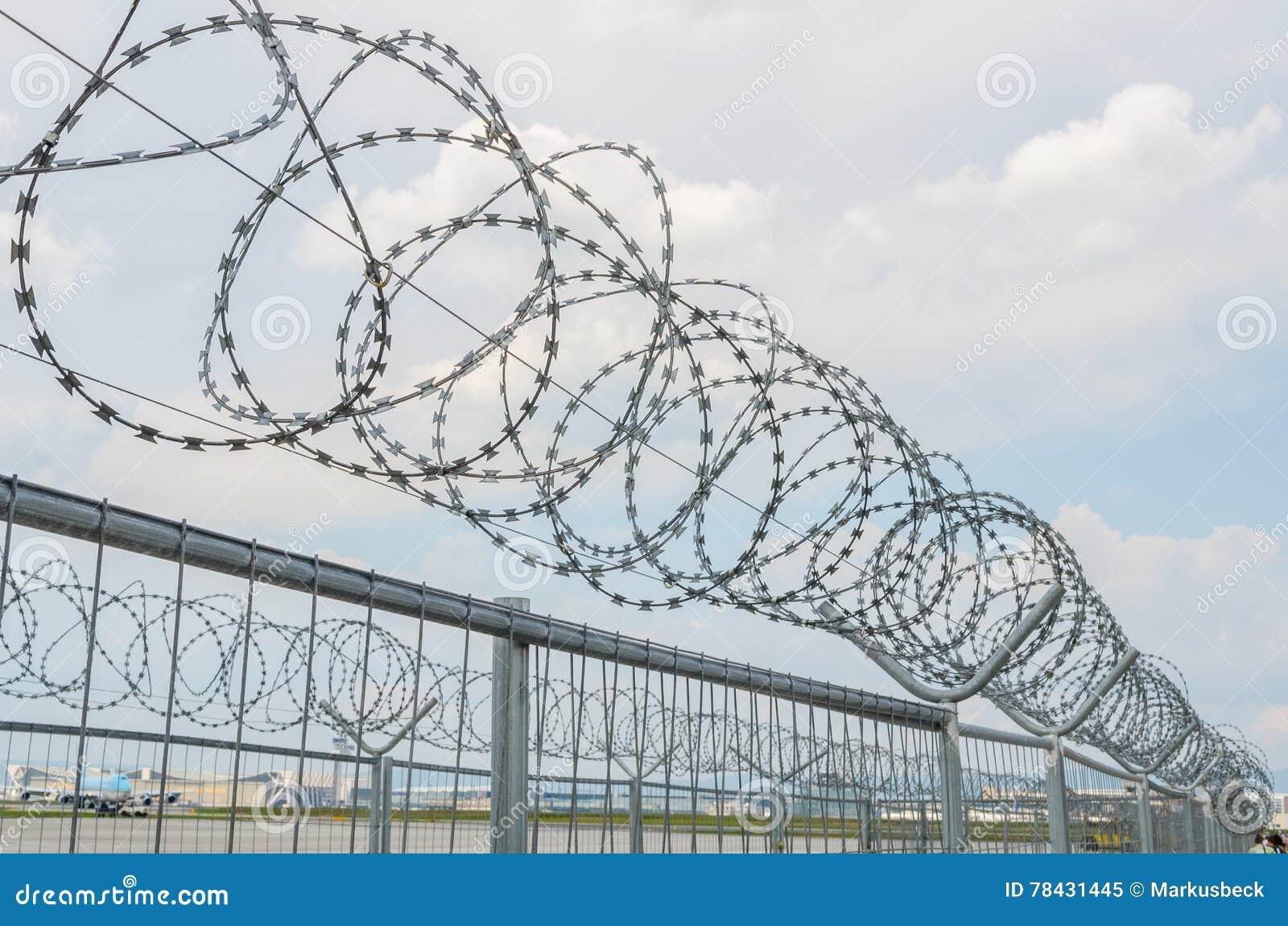 cyclone fence stock image image of crime abstract frankfurt