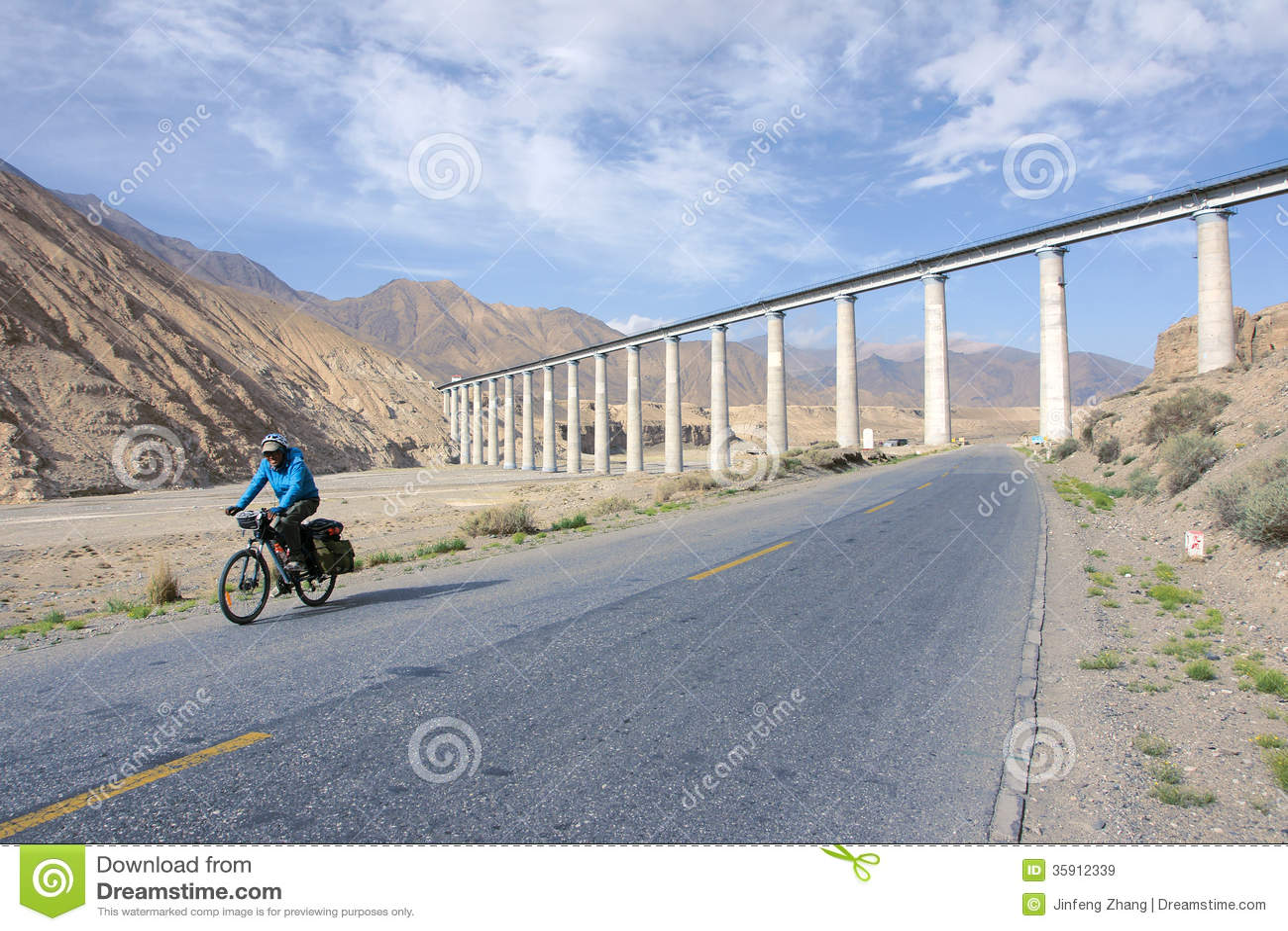 Cyclus het reizen