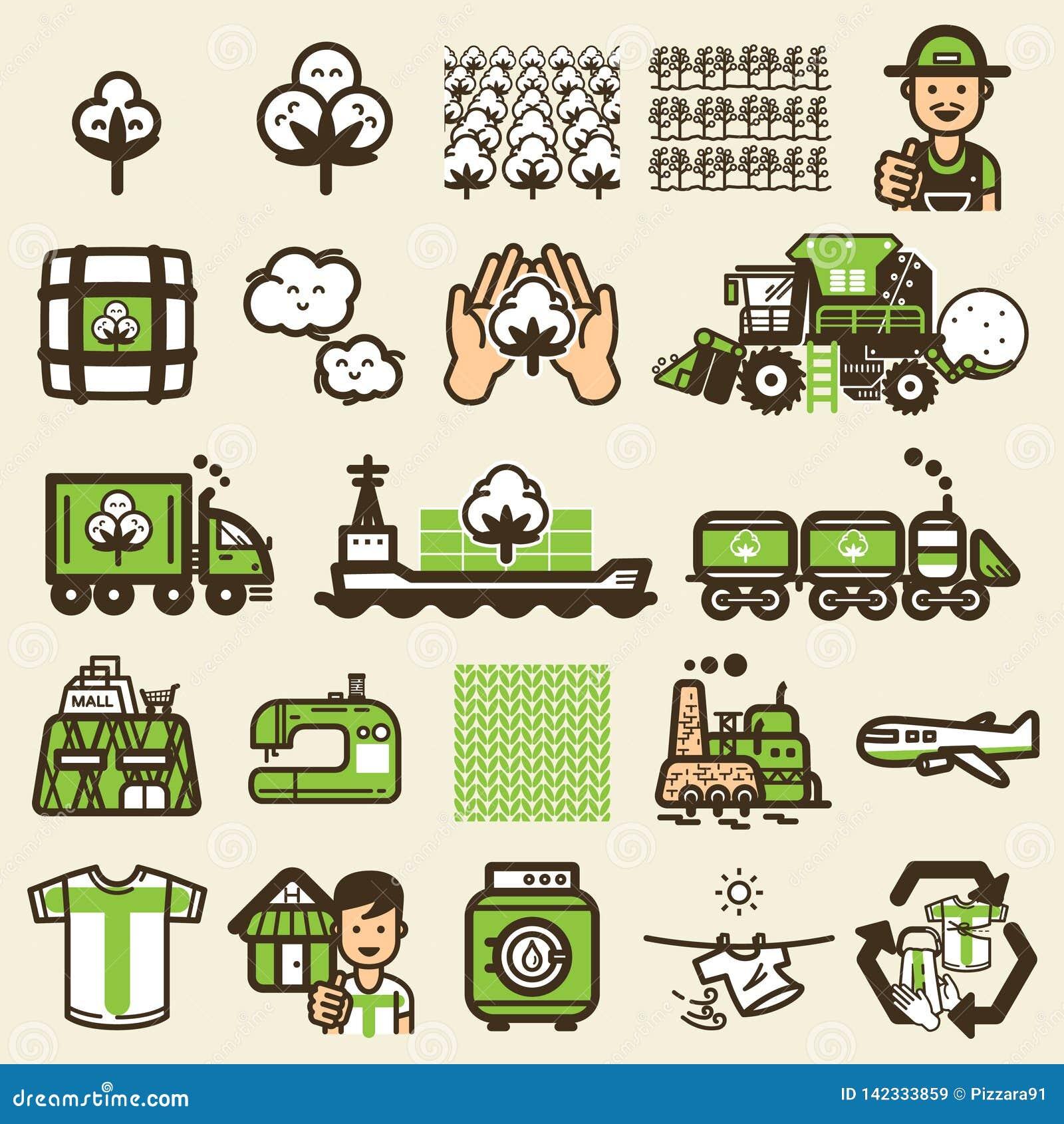 Cyclus van t-shirtpictogram