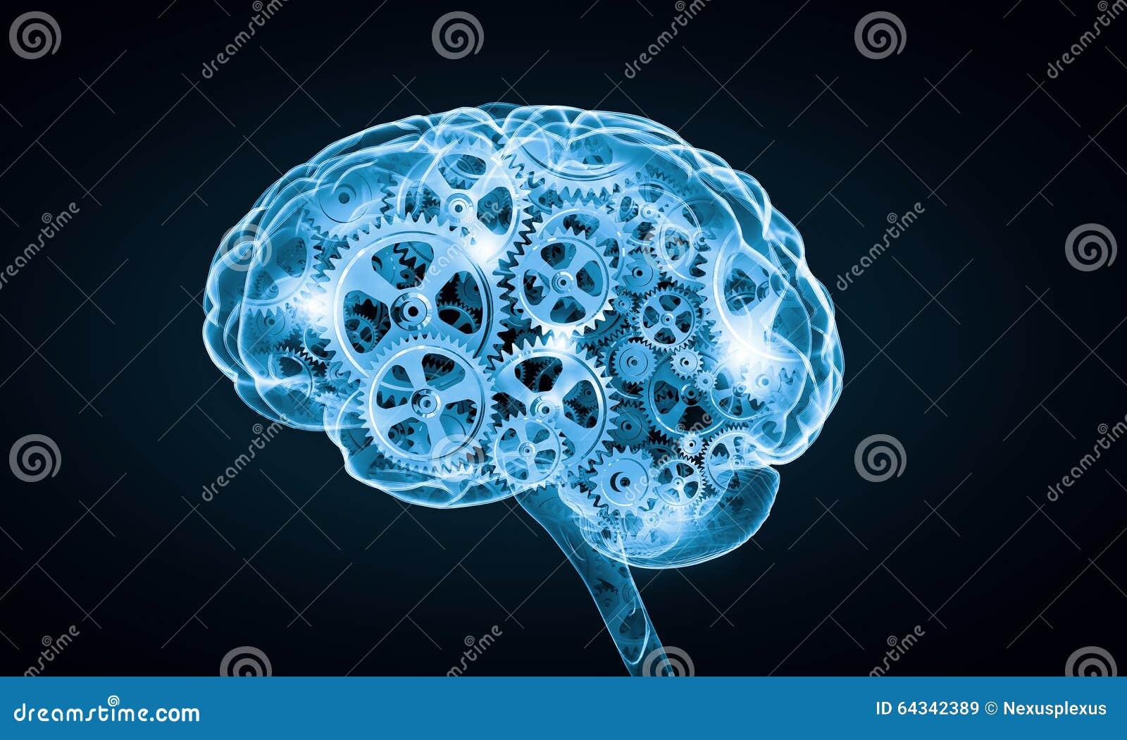 Cyfrowego ludzki mózg