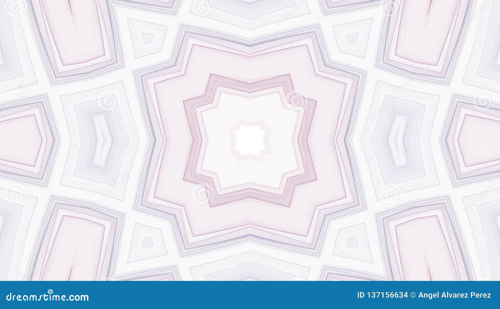 Cyfrowego projekt szarość i purpur kształty