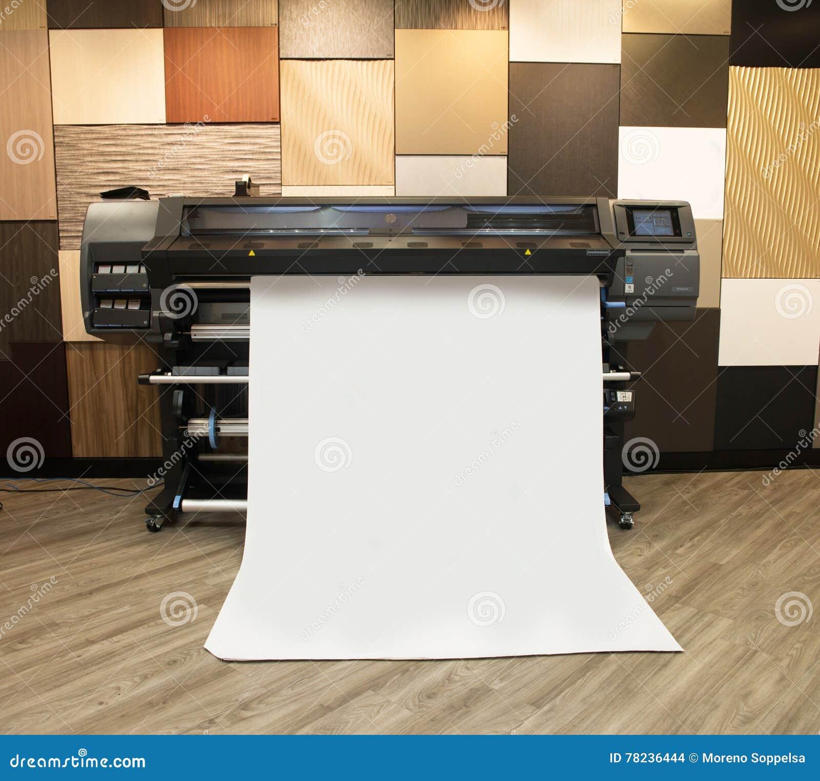 Cyfrowy formata drukarki druk szeroki