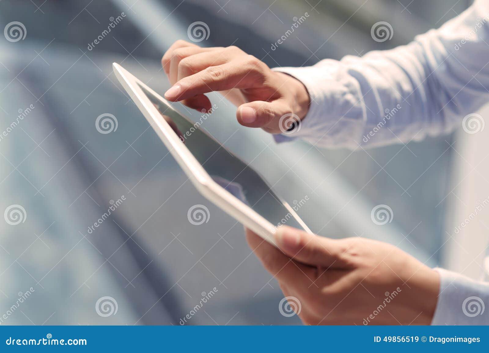 Cyfrowy używać pastylki