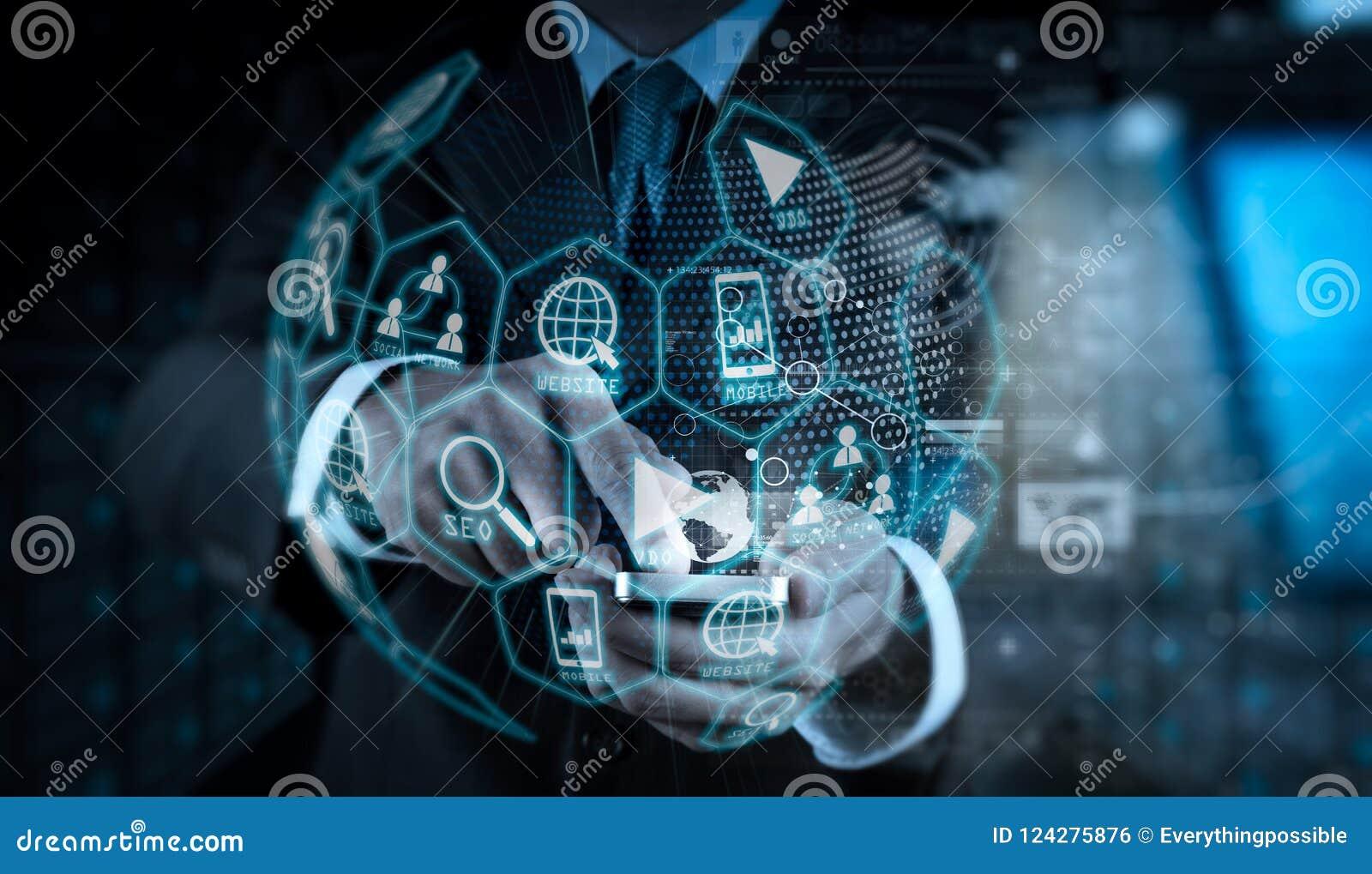 Cyfrowych marketingowi środki (strony internetowej reklama, email, ogólnospołeczna sieć, SEO,