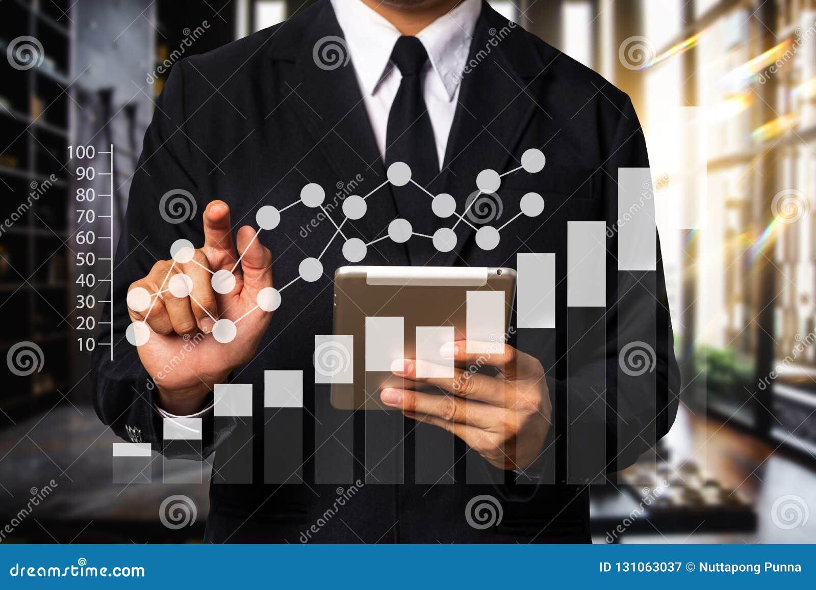 Cyfrowych marketingowi środki w wirtualnym ekranie Biznes