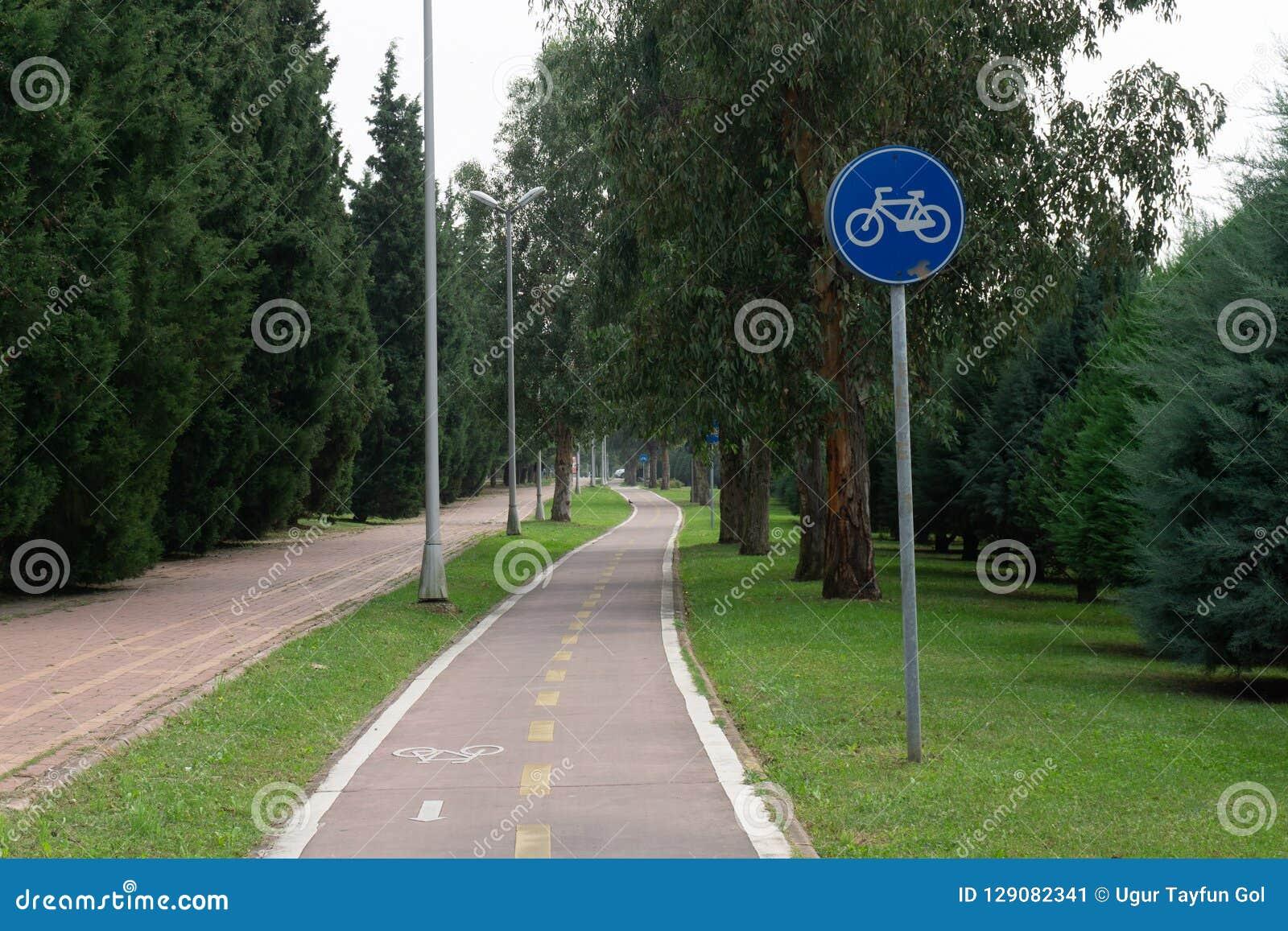 Cykelbana- och cykeltecken