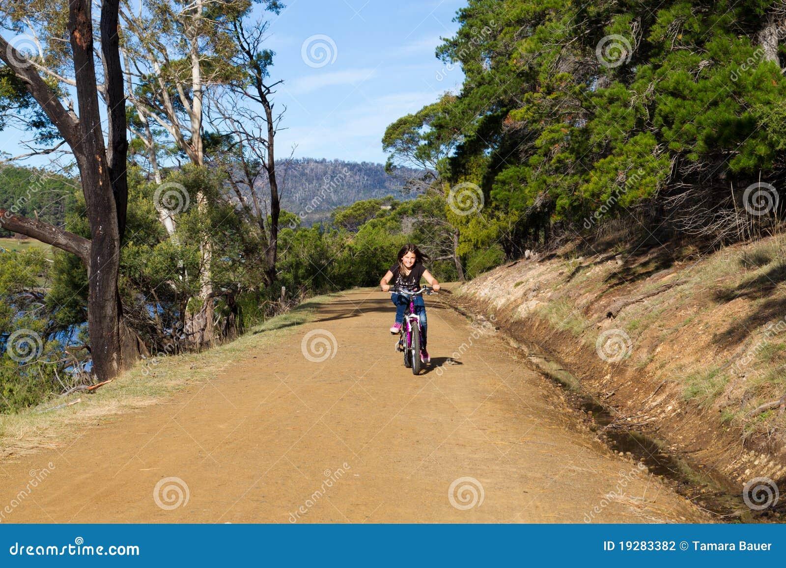 Cykelflickaridning