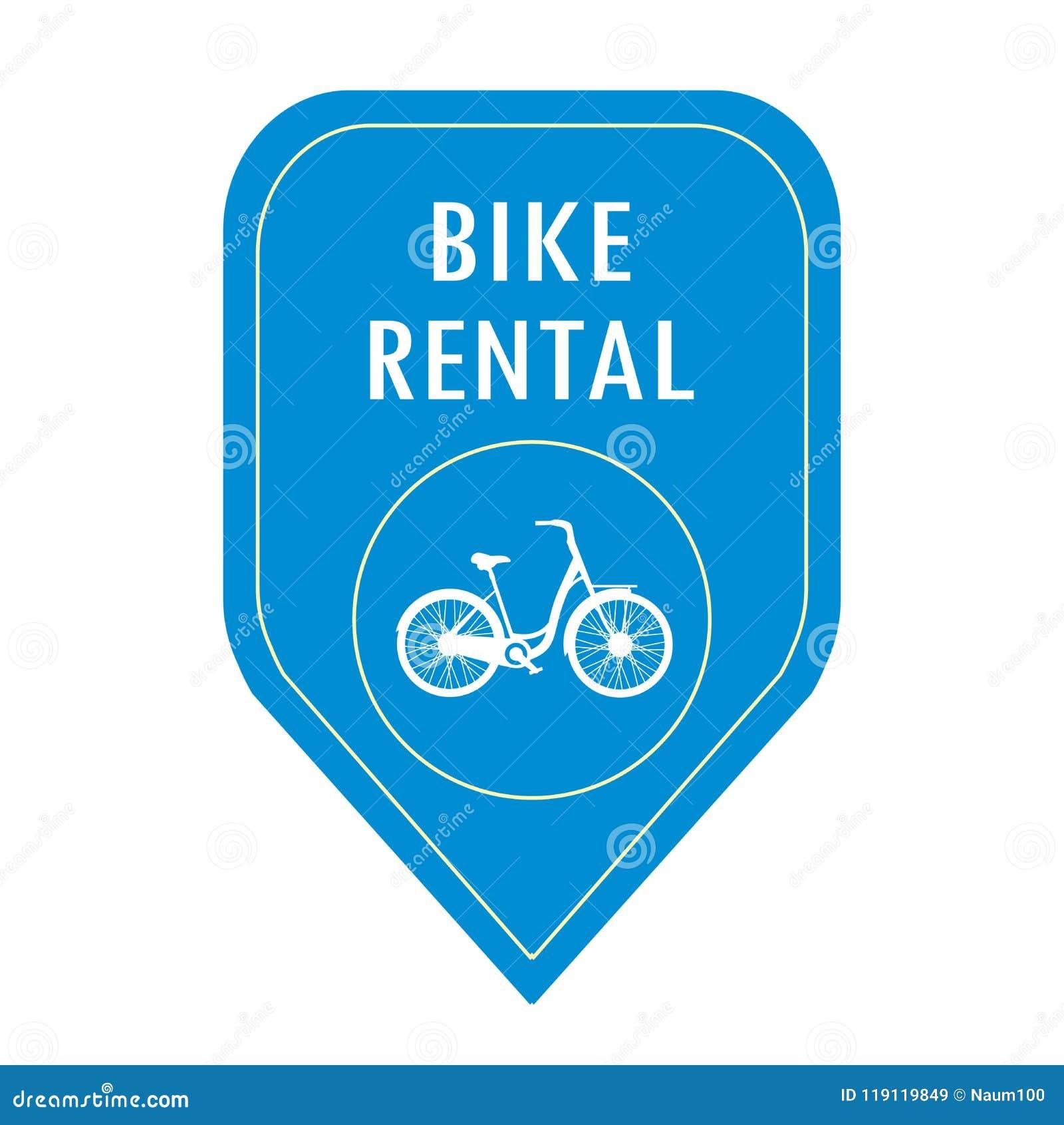 Cykelhyrasymbol