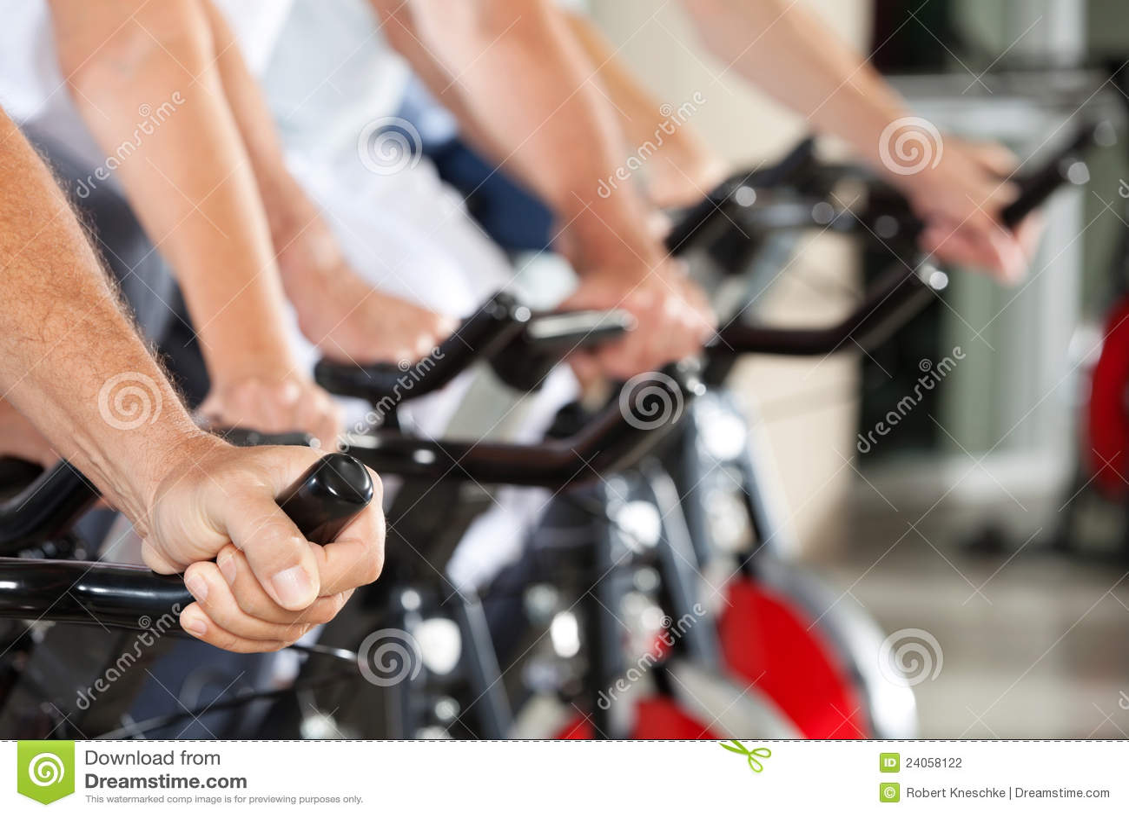 Cyklar konditionhandrotering
