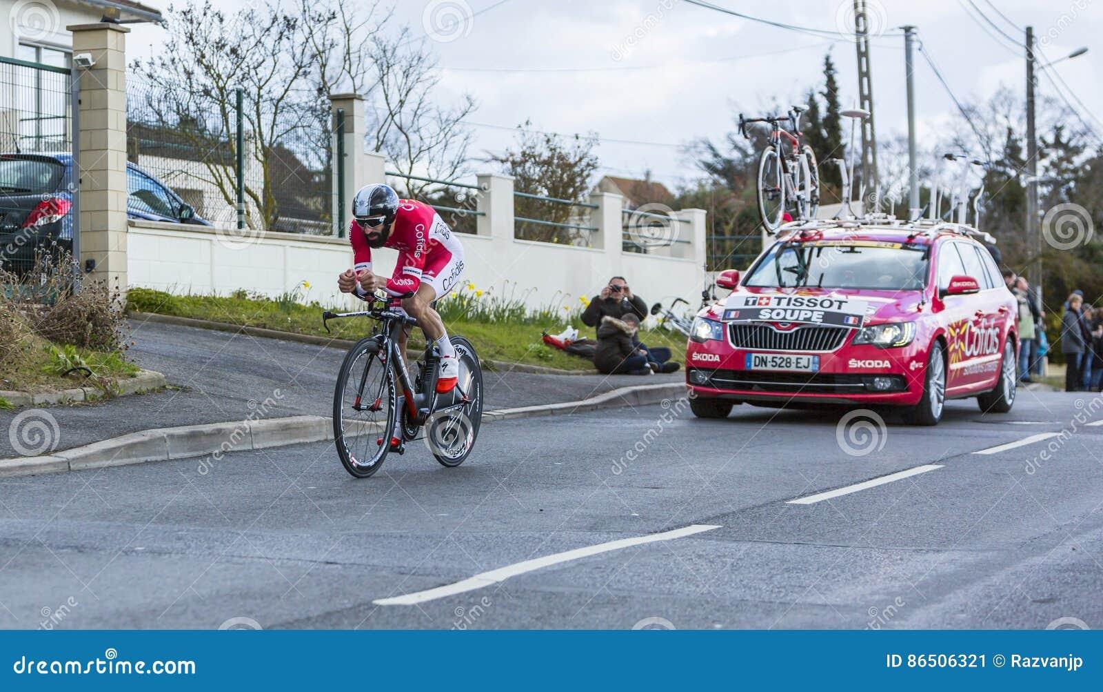 Cyklista Geoffrey Soupe - ładny 2016