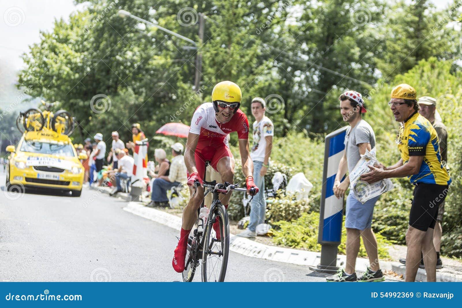 Cyklisten Nicolas Edet