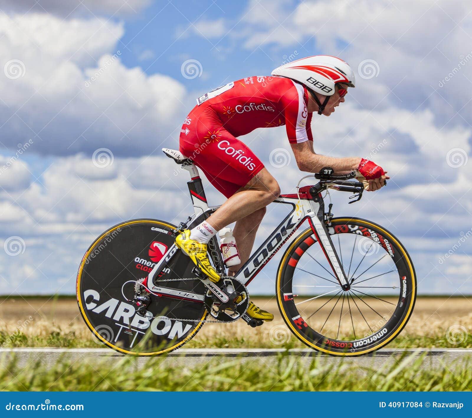 Cyklisten Romain Zingle