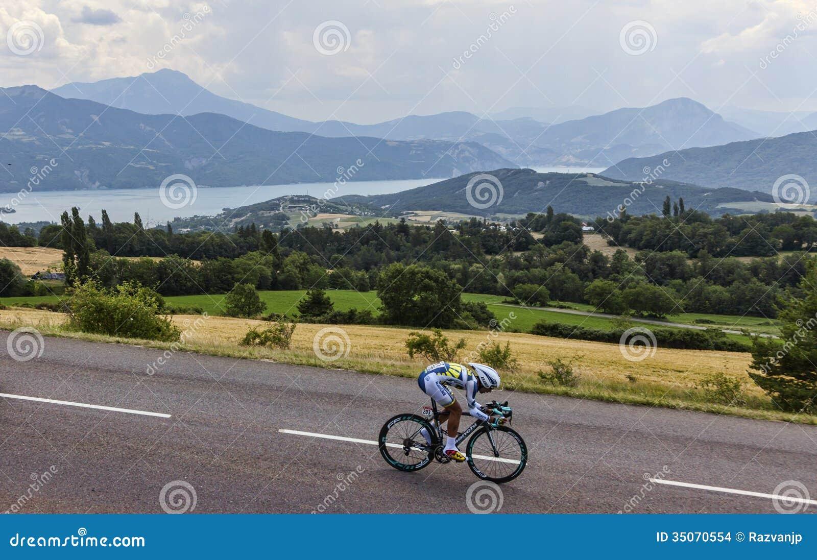 Cyklisten Thomas De Gendt