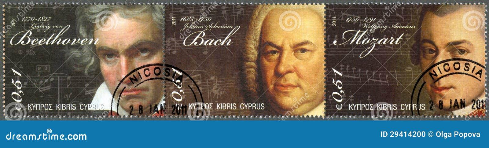 CYPR - 2011: Ludwig Van Beethoven, Johann Sebastian Bach, Wolfgang Amadeus Mozart
