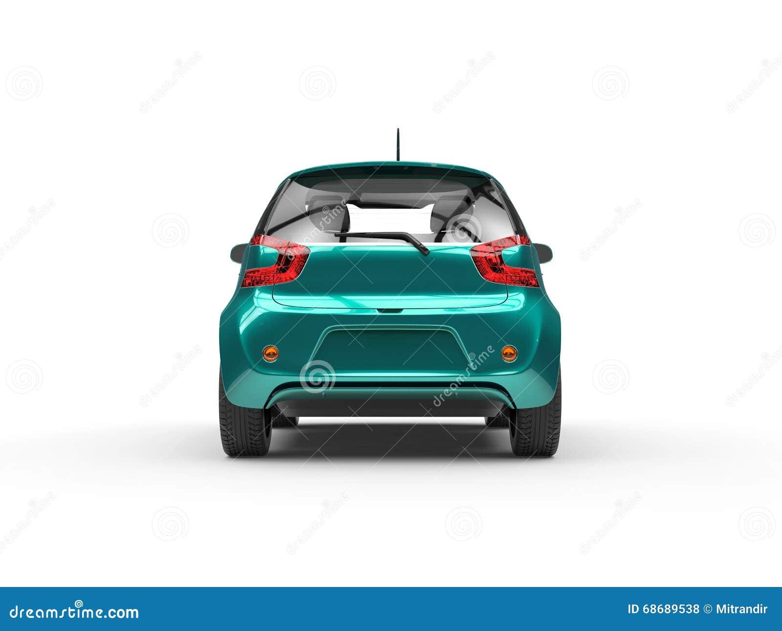 Cyraneczka Ścisły samochód - Tylni widok