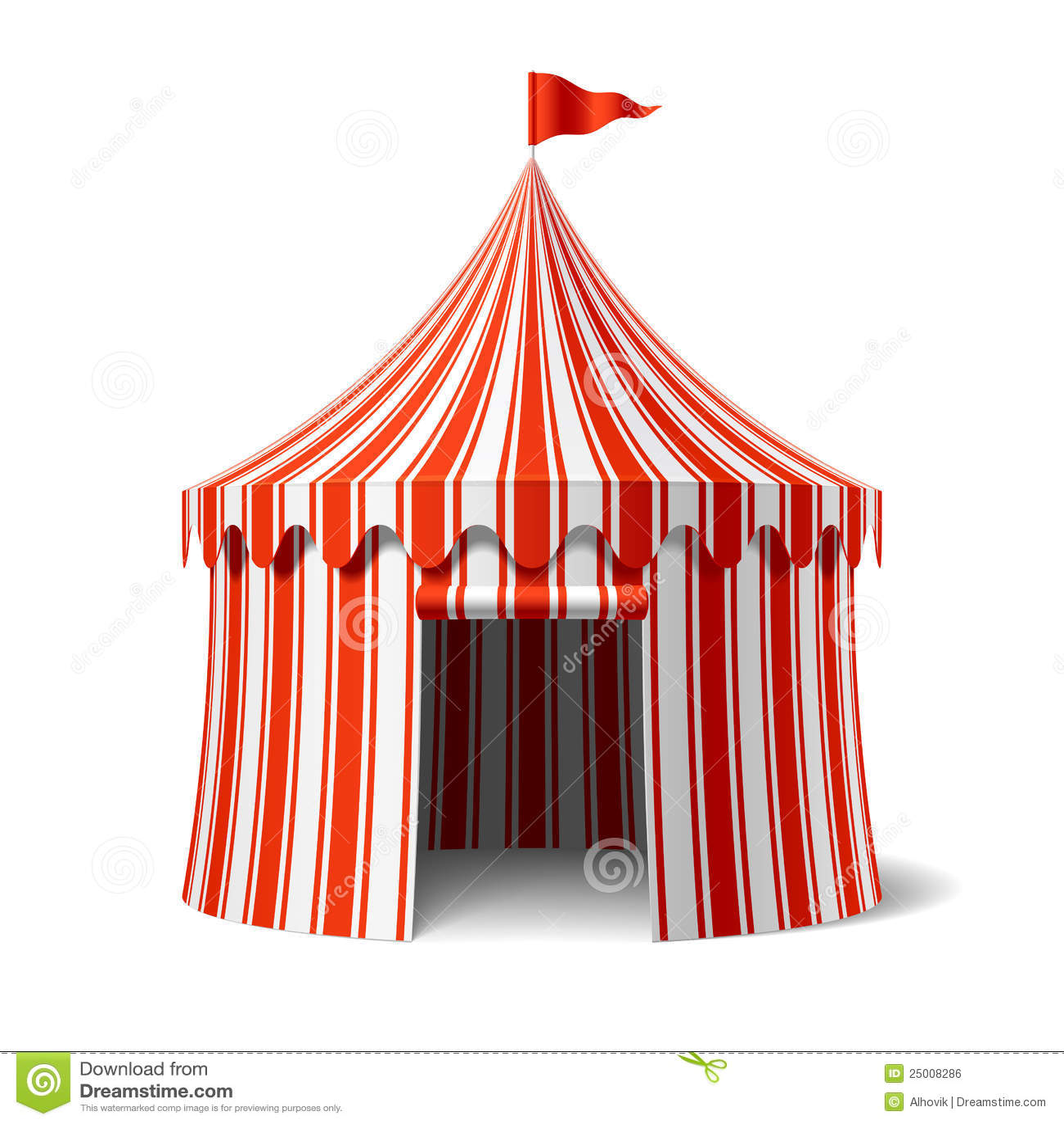Cyrkowy namiot