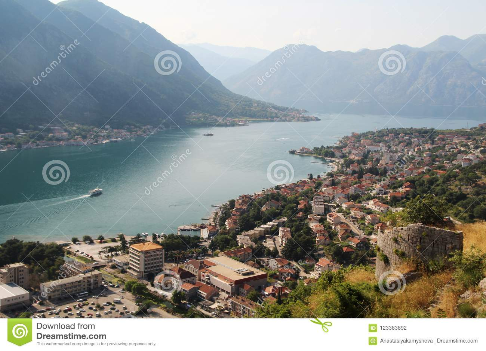 Cytadela w Kotor, Montenegro