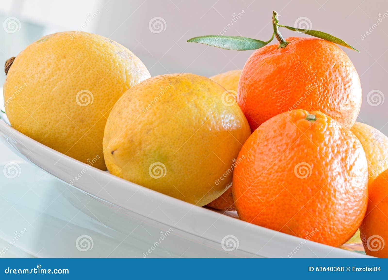 Cytryna i mandarynka