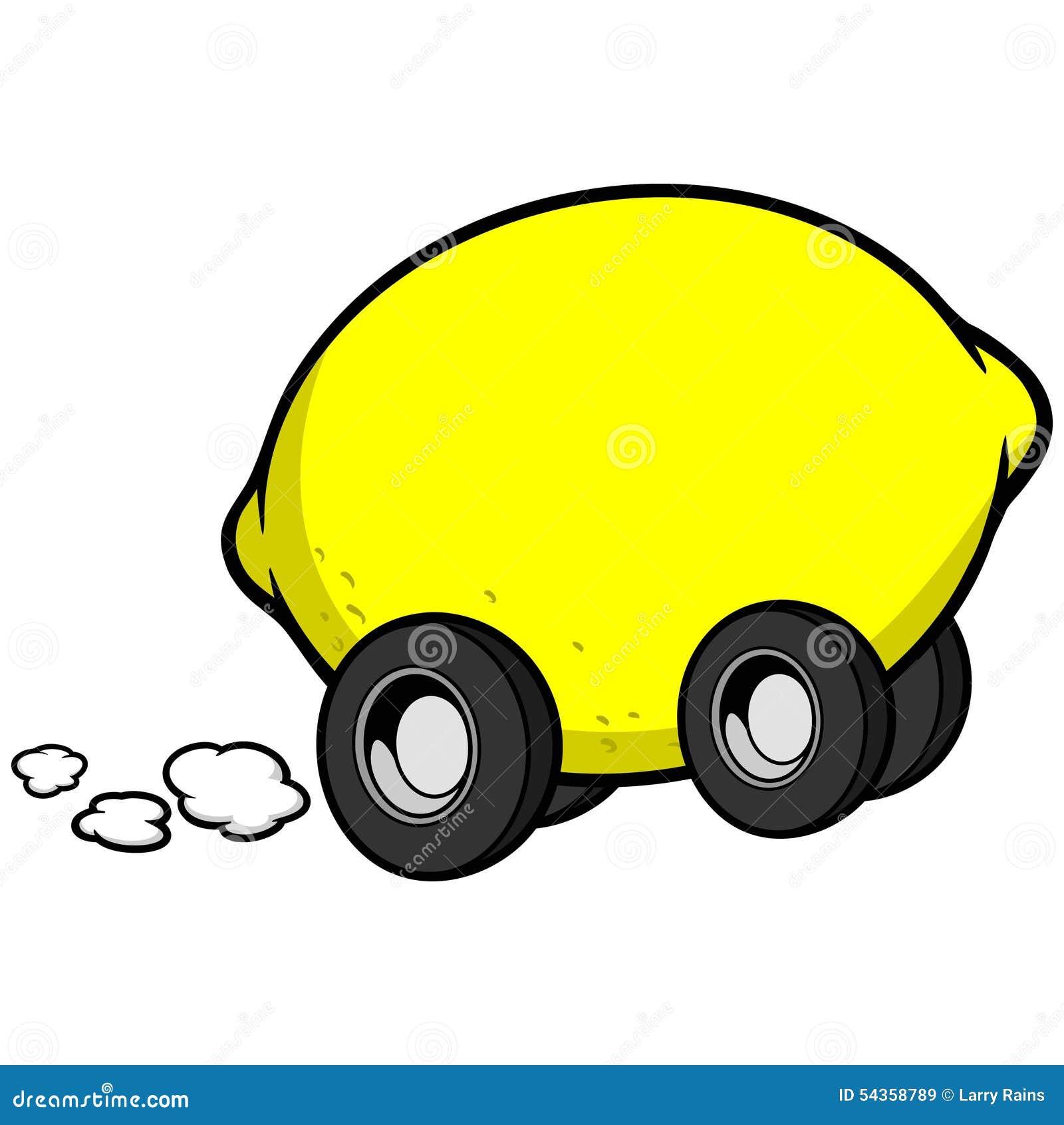 Cytryna samochód
