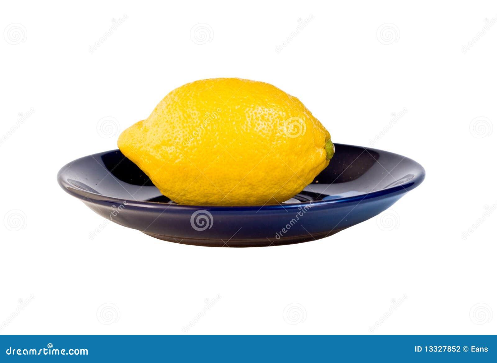 Cytryna talerz