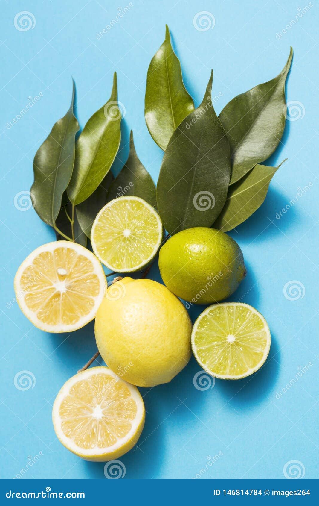Cytryny i wapno