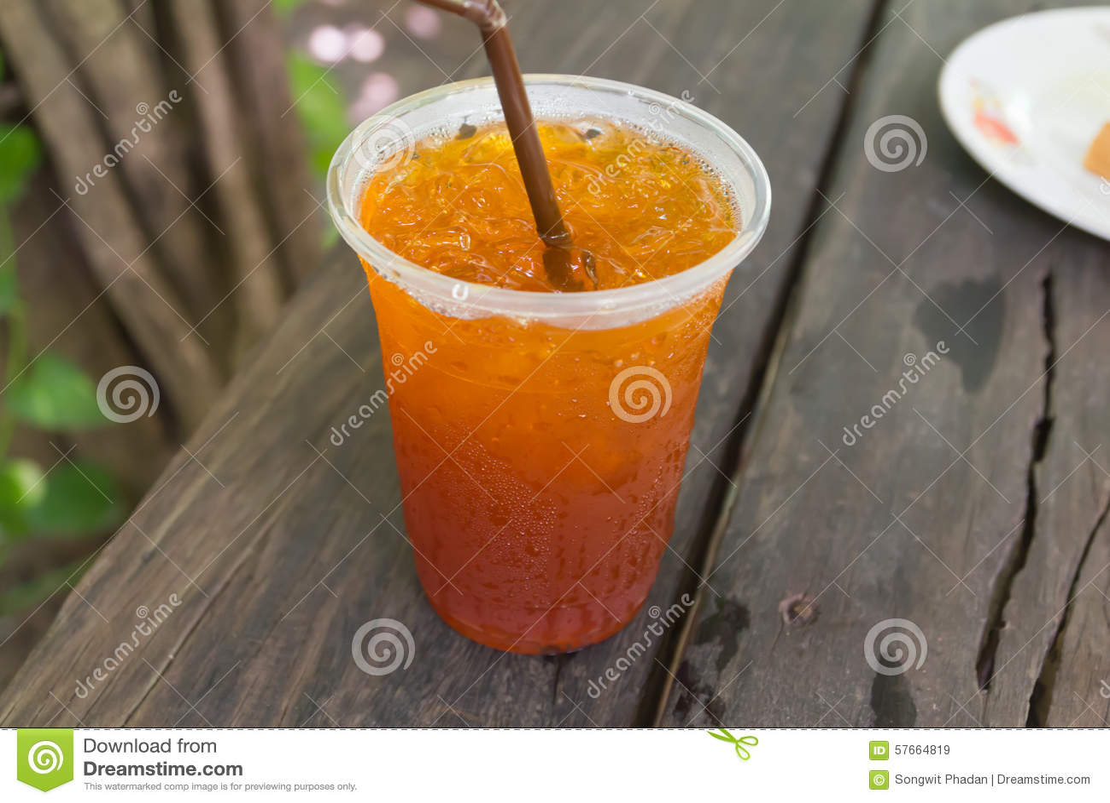 Cytryny lodowa herbata