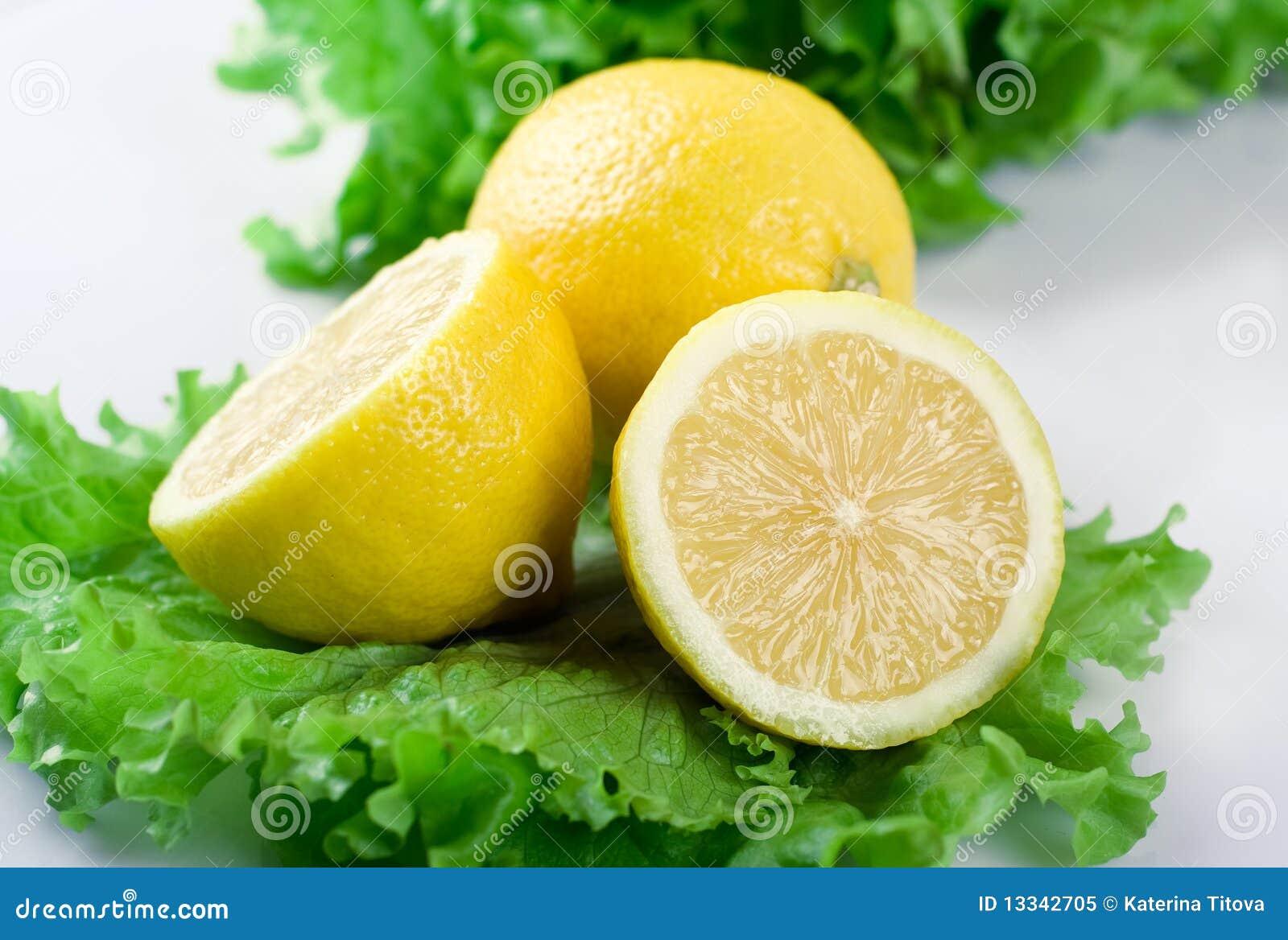 Cytryny sałata