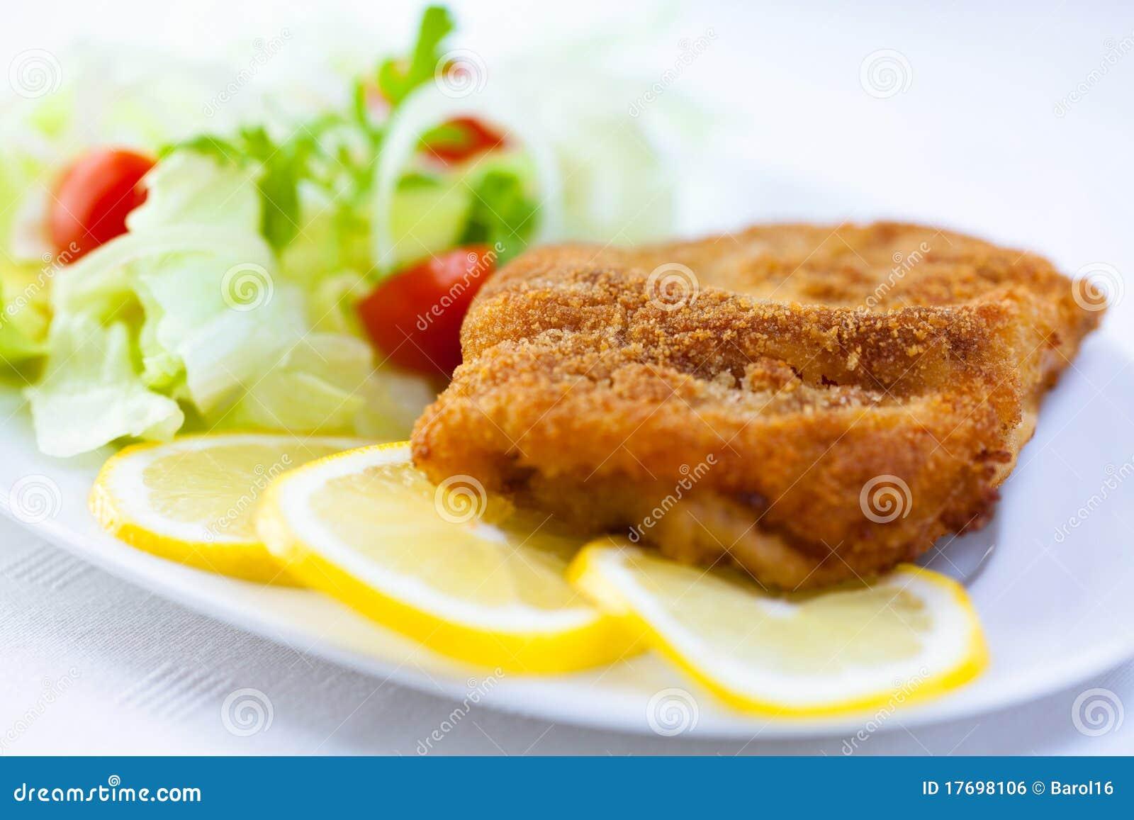 Cytryny schnitzel plasterki