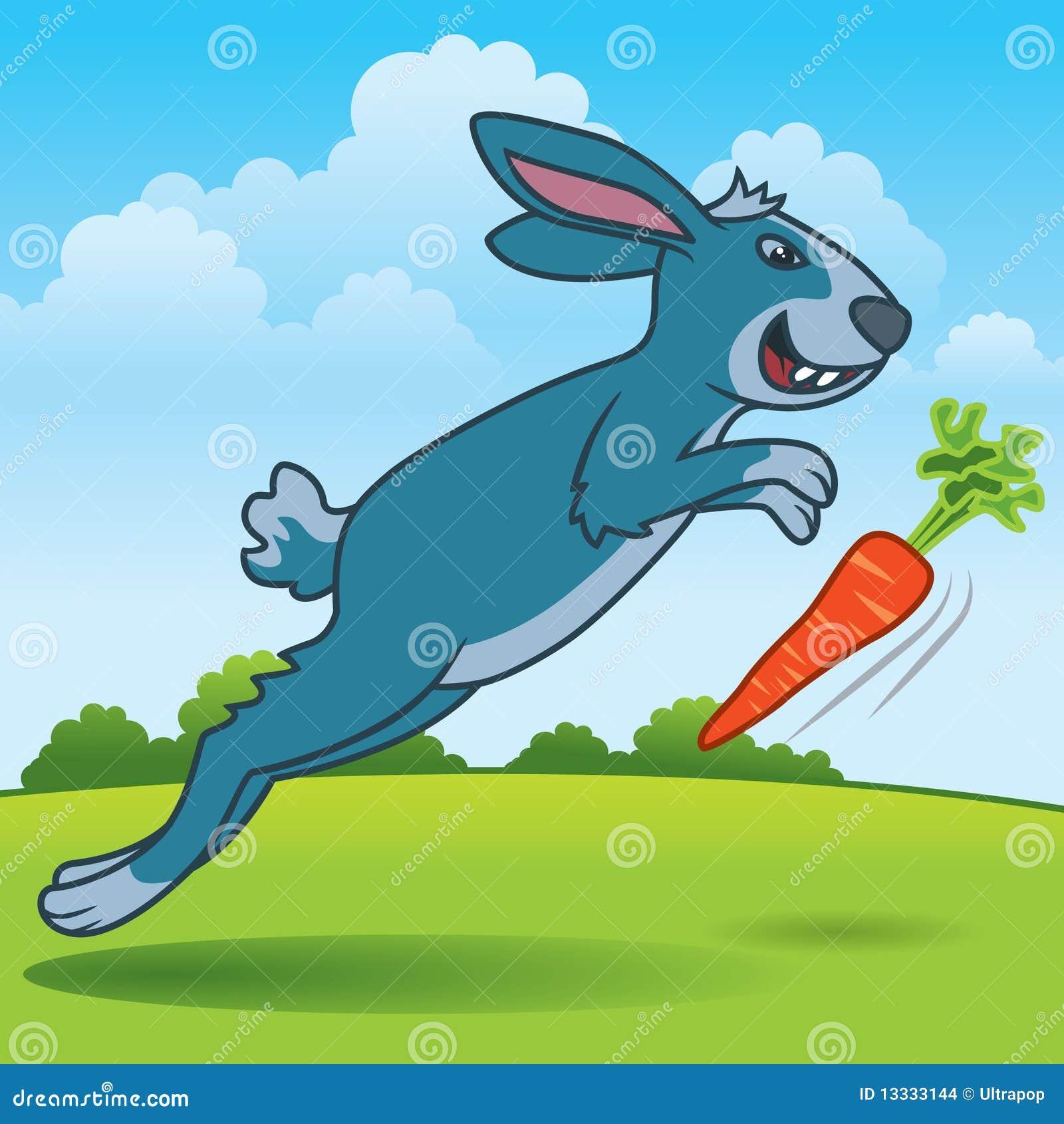 Cyzelatorstwo marchwiany królik