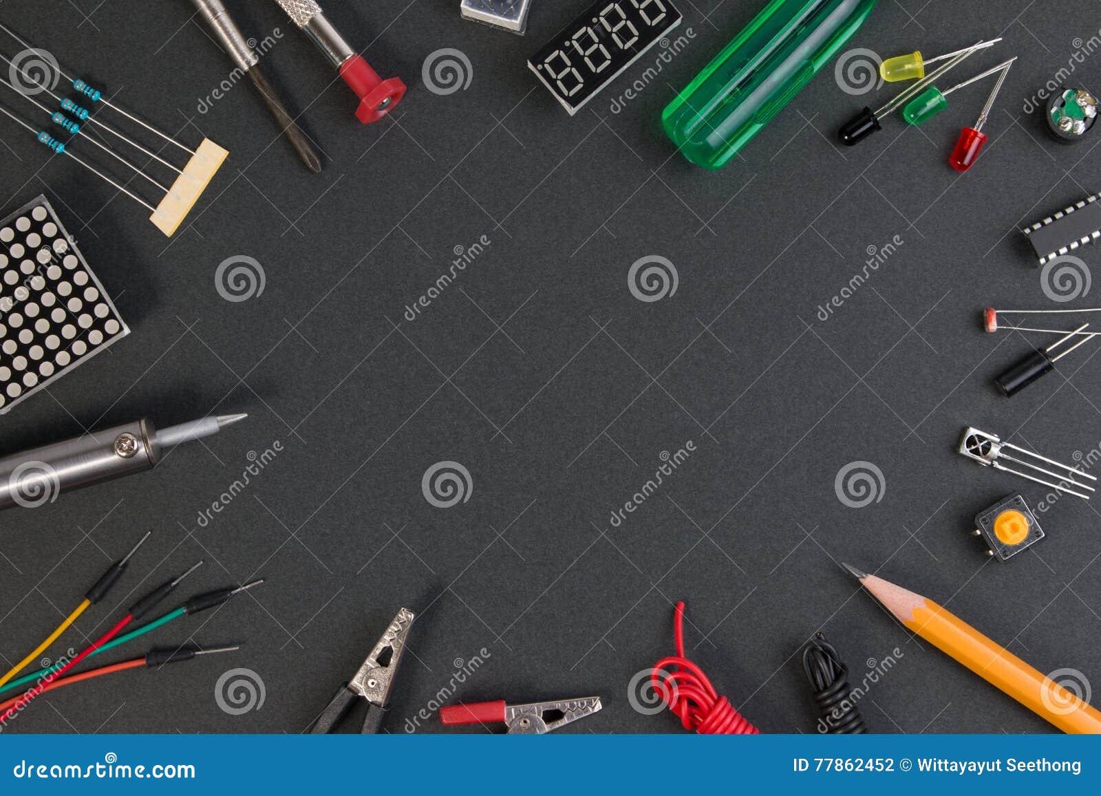 Cząsteczka producenta zestaw, elektronika projektuje producenta zestaw