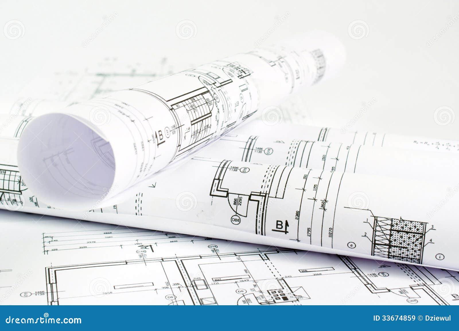 Część Architektoniczny Projekt Obraz Stock Obraz Złożonej Z
