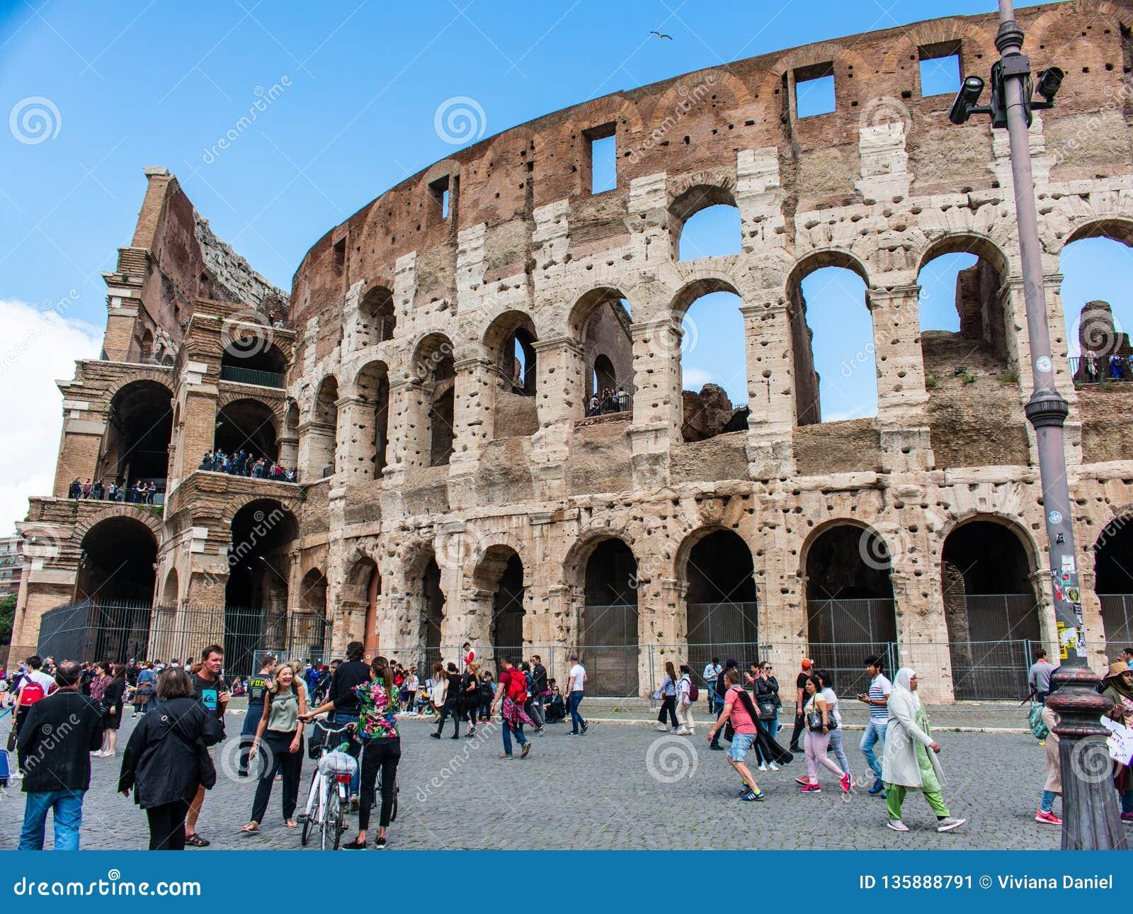 Część rzymski kolosseum, Rome, Italy