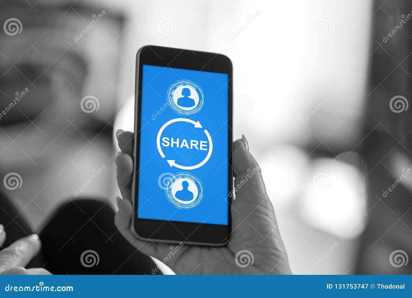 Części pojęcie na smartphone