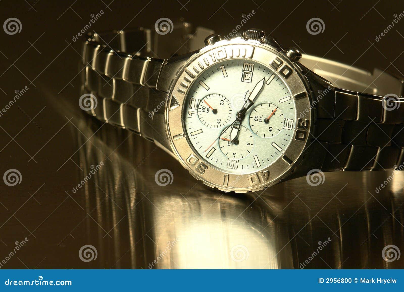 Człowiek jest zegarek